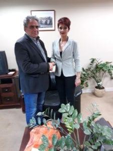 Η Άννα Κορομπίλη-Μπασινά υποψήφια με τον Γιώργο Ψαθά IMG 2af17670d2d6ffb46cd6998b2b66ae5f V 225x300