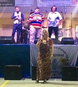 Έλένα Βάκα εκδήλωση του Συλλόγου Νέας Λαμψάκου