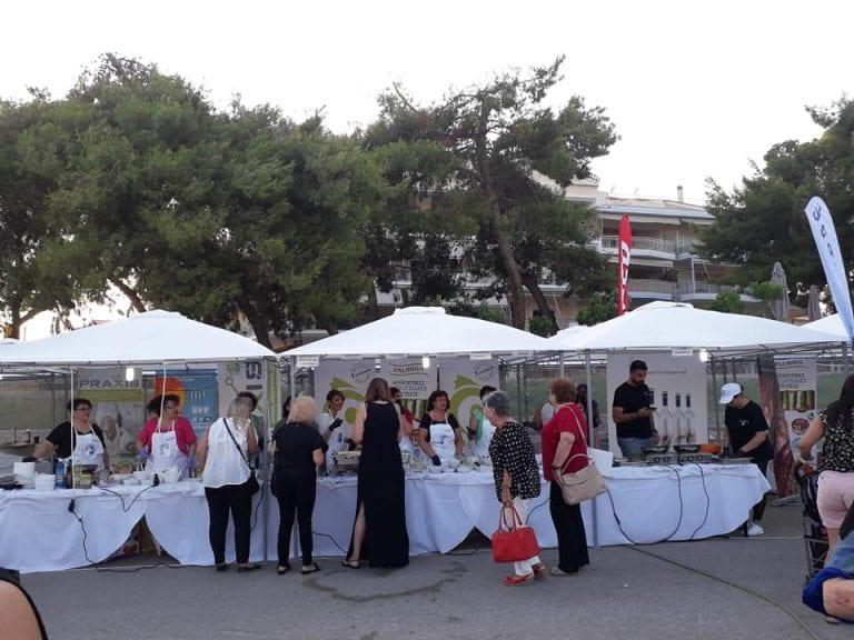 Ξεκίνησε το 1ο Φεστιβάλ Μικρασιατικής Γαστρονομίας στη Ν.Αρτάκη          3 768x576