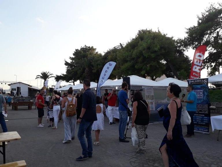 Ξεκίνησε το 1ο Φεστιβάλ Μικρασιατικής Γαστρονομίας στη Ν.Αρτάκη          5 768x576