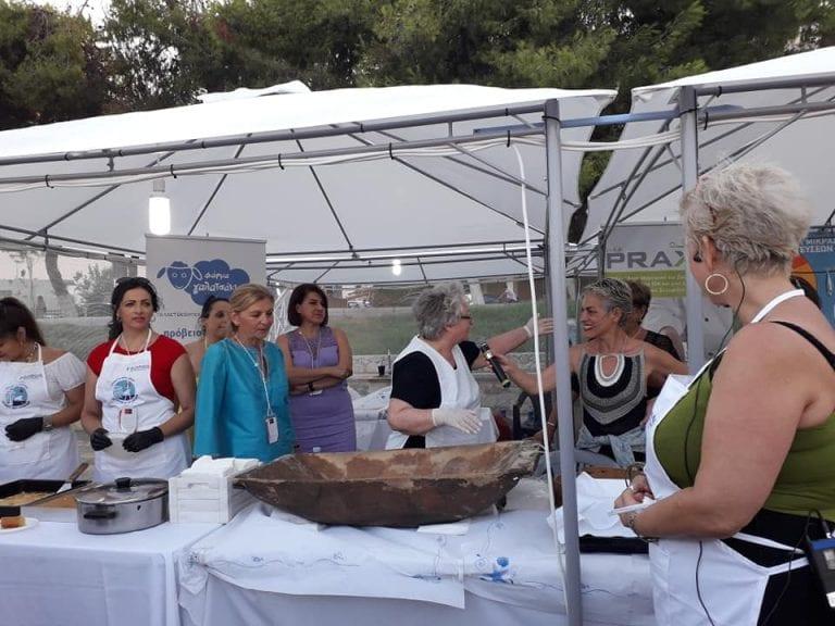 Ξεκίνησε το 1ο Φεστιβάλ Μικρασιατικής Γαστρονομίας στη Ν.Αρτάκη          768x576
