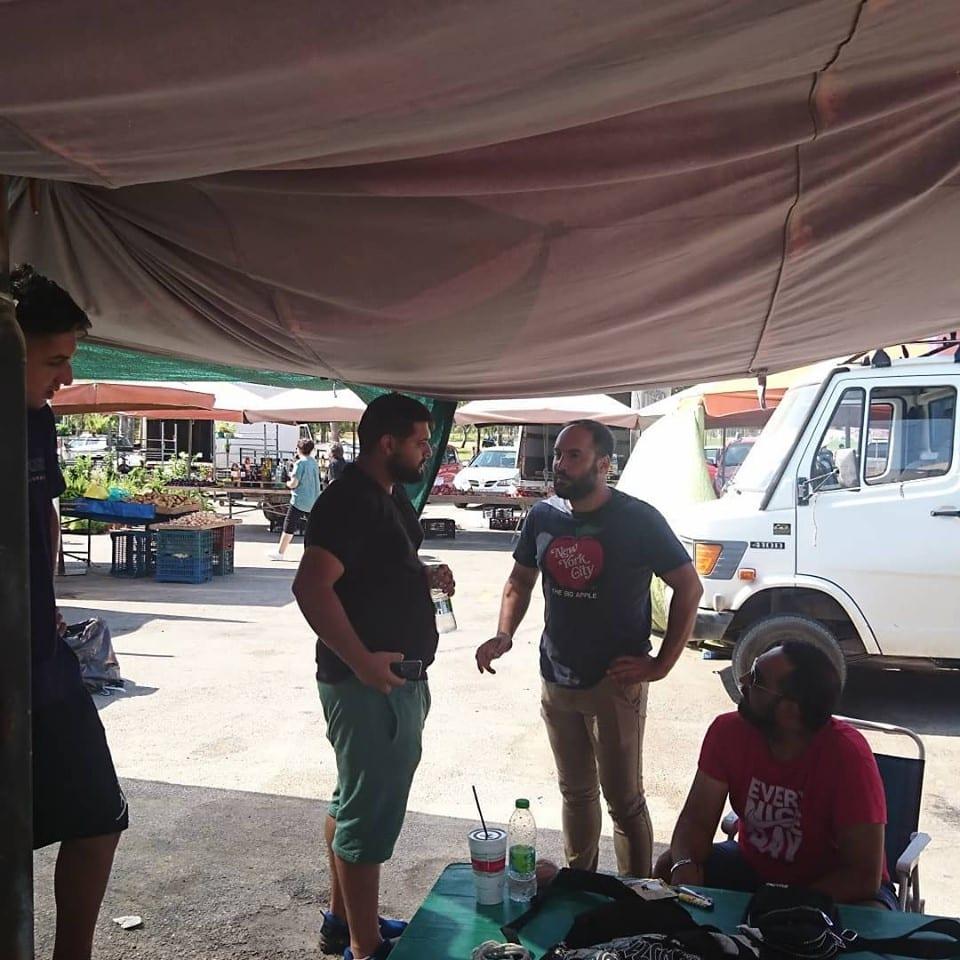 Επίσκεψη στην λαϊκή αγορά αμέσως μετά την εκλογή 66480386 2251076544927726 5743128670759813120 n
