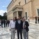 , Το «ευχαριστώ» του Μίλτου Χατζηγιαννάκη λίγο πριν την ορκωμοσία στη Βουλή, Eviathema.gr | Εύβοια Τοπ Νέα Ειδήσεις