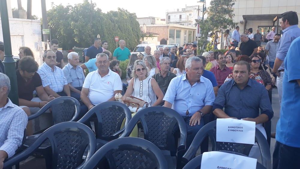 Πραγματοποιήθηκε η ορκωμοσία του νέου δημοτικού συμβουλίου του Δήμου Διρφύων Μεσσαπίων 20190830 190830