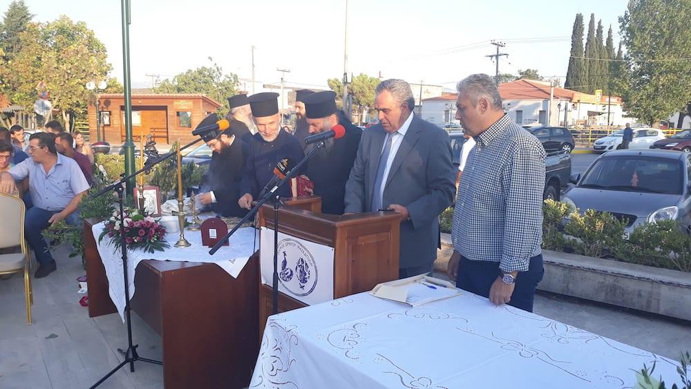 Πραγματοποιήθηκε η ορκωμοσία του νέου δημοτικού συμβουλίου του Δήμου Διρφύων Μεσσαπίων 20190830 191229