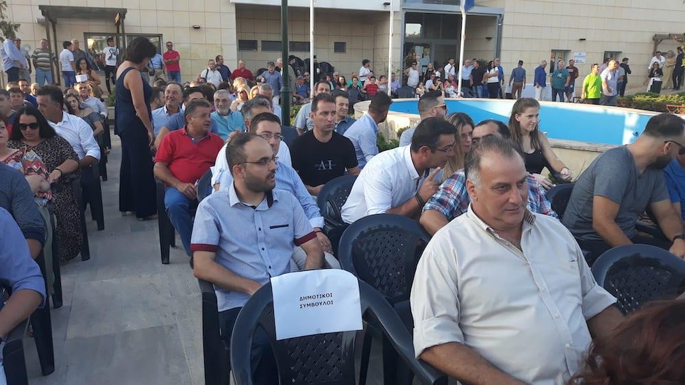 Πραγματοποιήθηκε η ορκωμοσία του νέου δημοτικού συμβουλίου του Δήμου Διρφύων Μεσσαπίων 20190830 191254