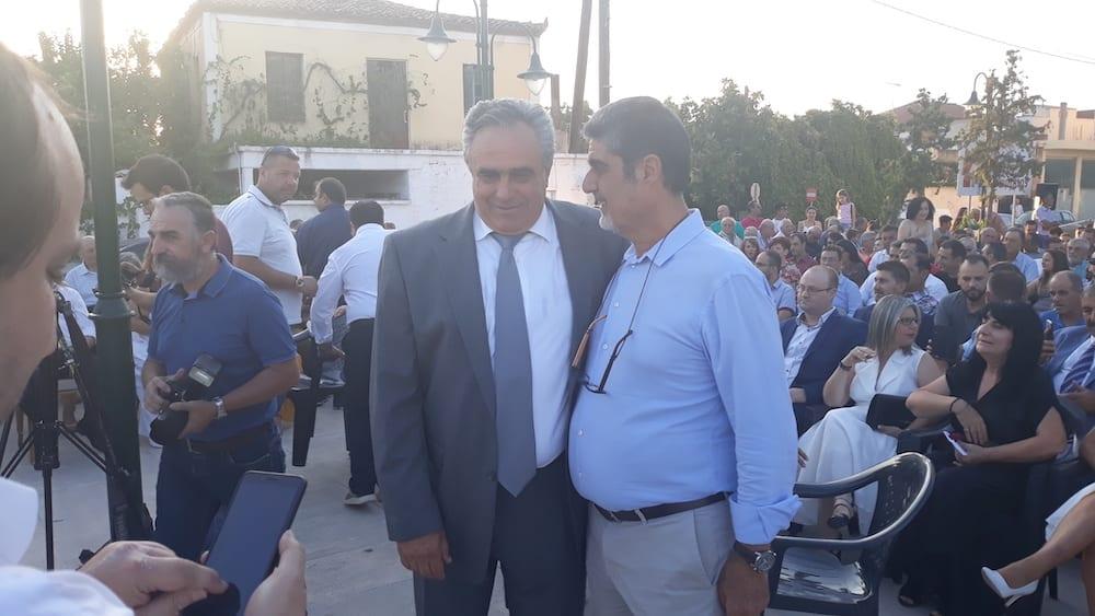 Πραγματοποιήθηκε η ορκωμοσία του νέου δημοτικού συμβουλίου του Δήμου Διρφύων Μεσσαπίων 20190830 192132