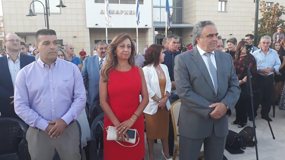 Πραγματοποιήθηκε η ορκωμοσία του νέου δημοτικού συμβουλίου του Δήμου Διρφύων Μεσσαπίων 20190830 193716