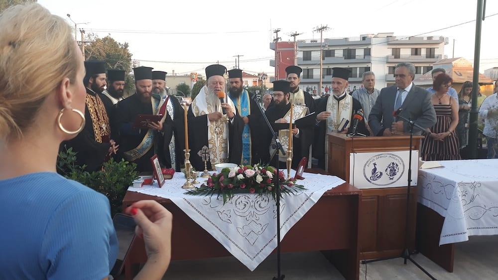 Πραγματοποιήθηκε η ορκωμοσία του νέου δημοτικού συμβουλίου του Δήμου Διρφύων Μεσσαπίων 20190830 194008