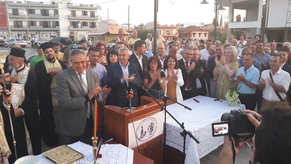 Πραγματοποιήθηκε η ορκωμοσία του νέου δημοτικού συμβουλίου του Δήμου Διρφύων Μεσσαπίων 20190830 200853