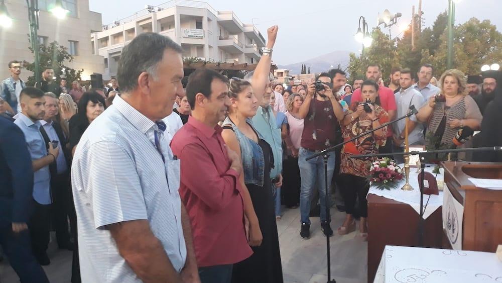 Πραγματοποιήθηκε η ορκωμοσία του νέου δημοτικού συμβουλίου του Δήμου Διρφύων Μεσσαπίων 20190830 201029