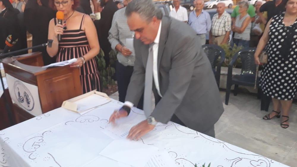 Πραγματοποιήθηκε η ορκωμοσία του νέου δημοτικού συμβουλίου του Δήμου Διρφύων Μεσσαπίων 20190830 201121