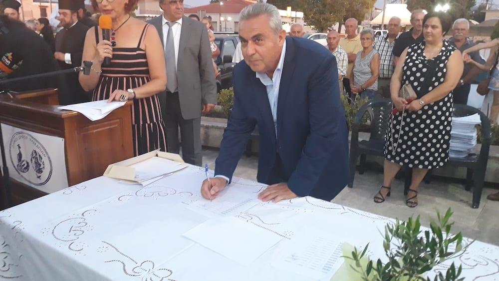 Πραγματοποιήθηκε η ορκωμοσία του νέου δημοτικού συμβουλίου του Δήμου Διρφύων Μεσσαπίων 20190830 201244