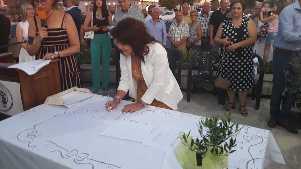 Πραγματοποιήθηκε η ορκωμοσία του νέου δημοτικού συμβουλίου του Δήμου Διρφύων Μεσσαπίων 20190830 201343