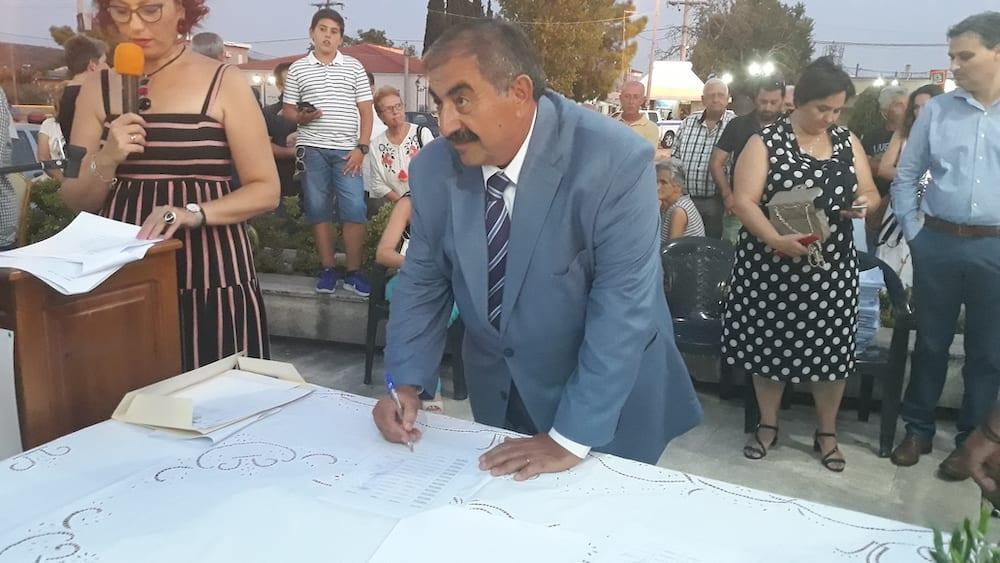 Πραγματοποιήθηκε η ορκωμοσία του νέου δημοτικού συμβουλίου του Δήμου Διρφύων Μεσσαπίων 20190830 201449