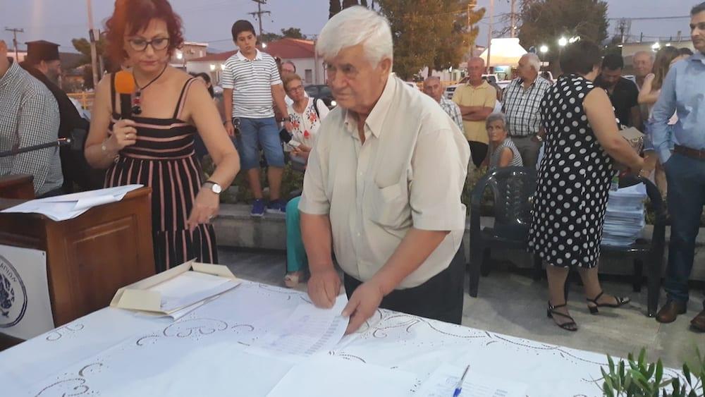 Πραγματοποιήθηκε η ορκωμοσία του νέου δημοτικού συμβουλίου του Δήμου Διρφύων Μεσσαπίων 20190830 201515