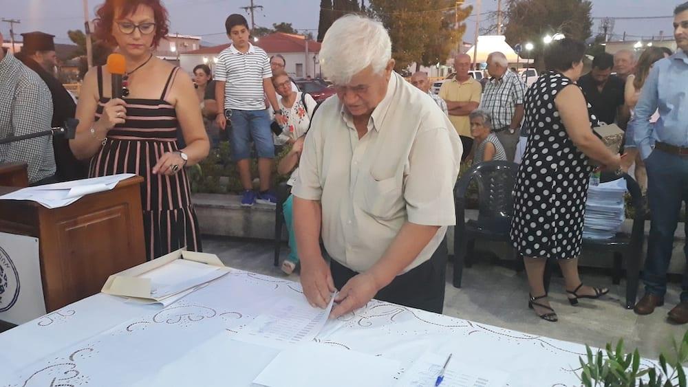 Πραγματοποιήθηκε η ορκωμοσία του νέου δημοτικού συμβουλίου του Δήμου Διρφύων Μεσσαπίων 20190830 201516