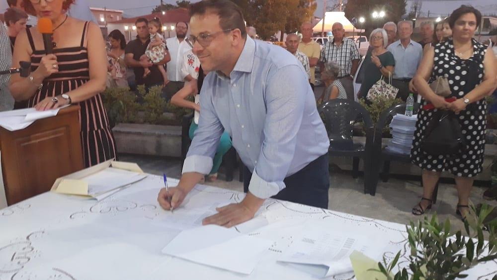 Πραγματοποιήθηκε η ορκωμοσία του νέου δημοτικού συμβουλίου του Δήμου Διρφύων Μεσσαπίων 20190830 201618