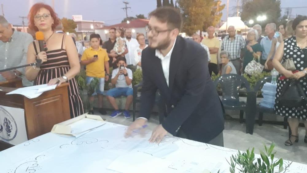 Πραγματοποιήθηκε η ορκωμοσία του νέου δημοτικού συμβουλίου του Δήμου Διρφύων Μεσσαπίων 20190830 201657