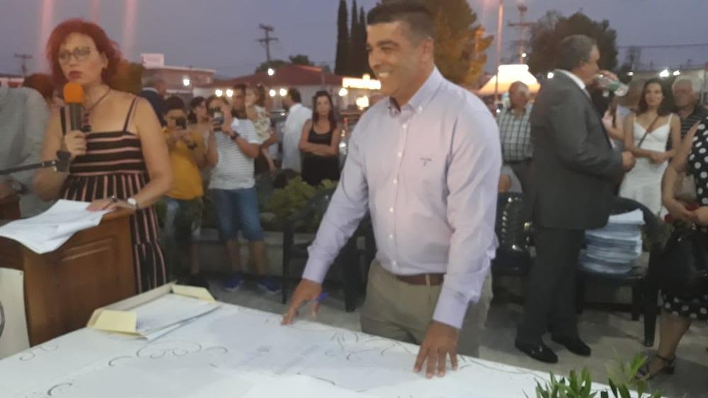 Πραγματοποιήθηκε η ορκωμοσία του νέου δημοτικού συμβουλίου του Δήμου Διρφύων Μεσσαπίων 20190830 201813