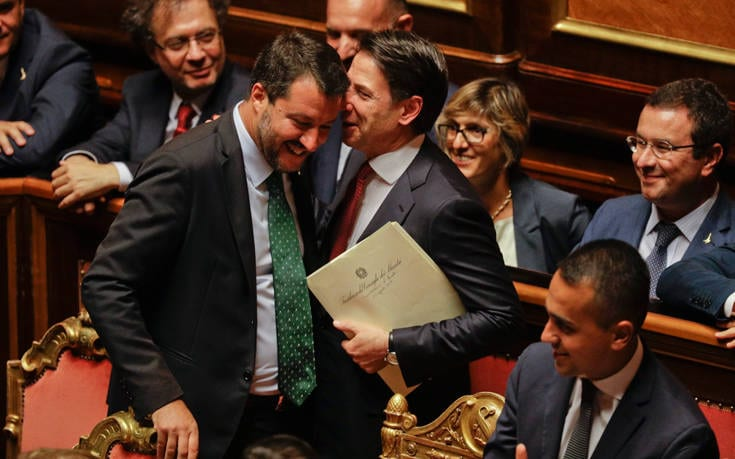 Ιταλία: Παραιτήθηκε ο πρωθυπουργός Τζουζέπε Κόντε AP 19232476619305