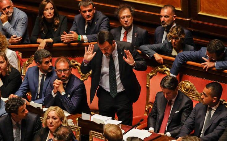 Ιταλία: Παραιτήθηκε ο πρωθυπουργός Τζουζέπε Κόντε AP 19232509804707
