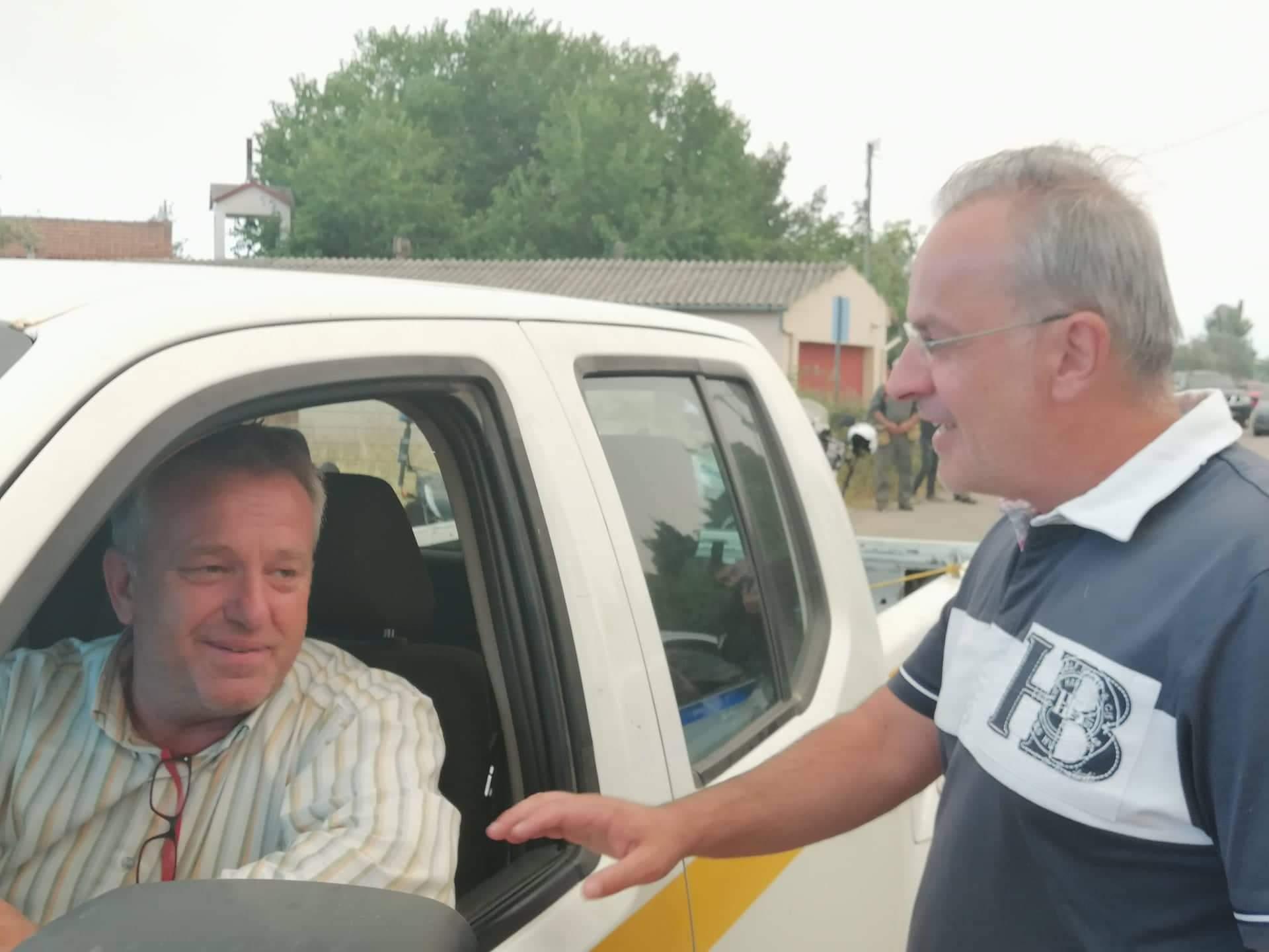Στα Ψαχνά σε σύσκεψη με τον υπουργό Εσωτερικών ο Θανάσης Ζεμπίλης. received 2463364460587966