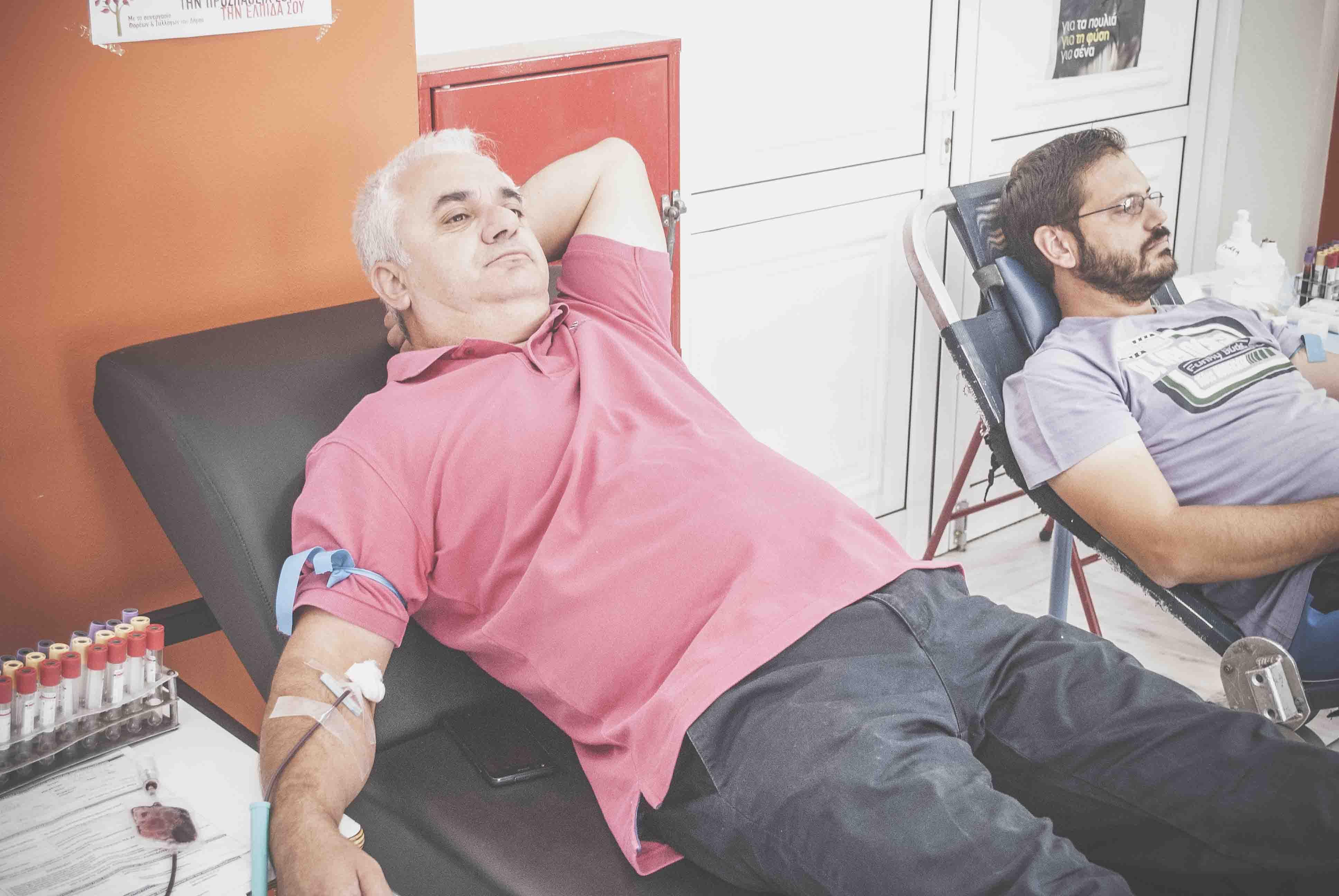 Πραγματοποιήθηκε η αιμοδοσία στον Δήμο Διρφύων Μεσσαπίων DSC 0157