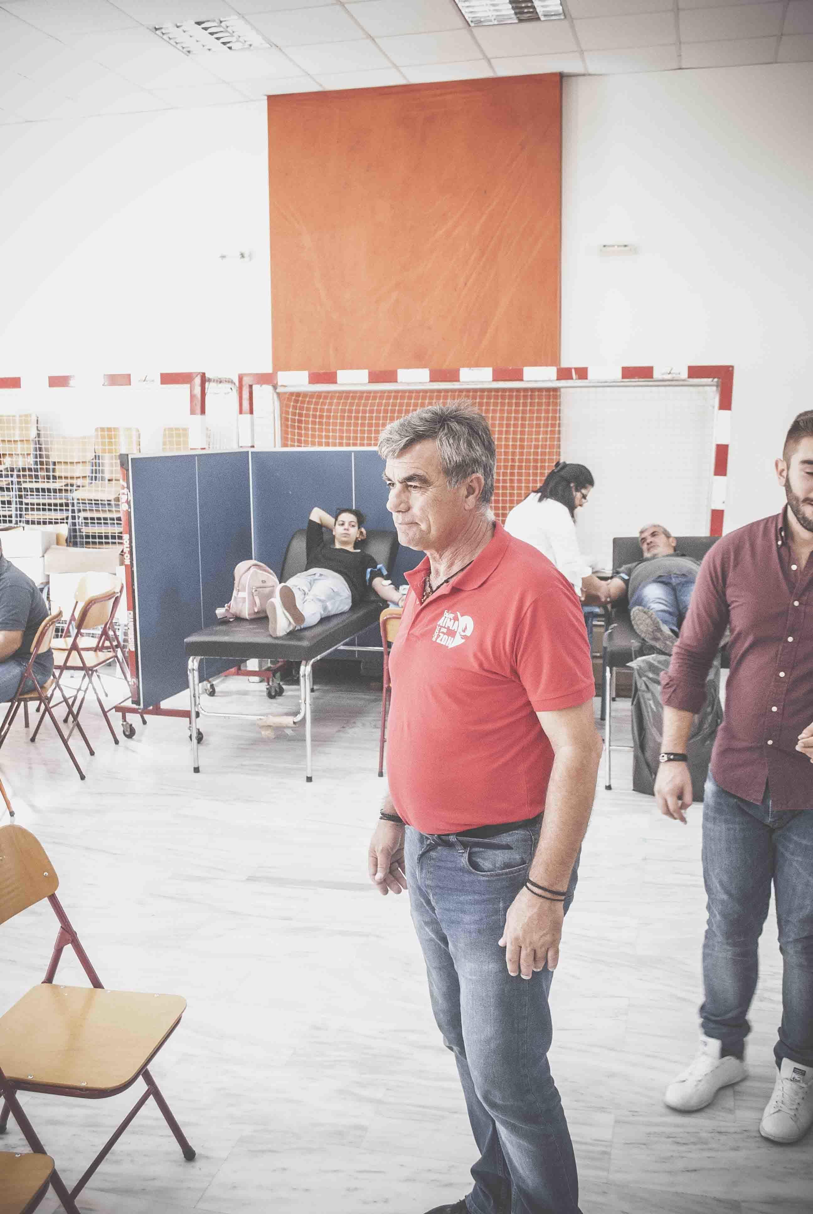 Πραγματοποιήθηκε η αιμοδοσία στον Δήμο Διρφύων Μεσσαπίων DSC 0165 e1571066157775