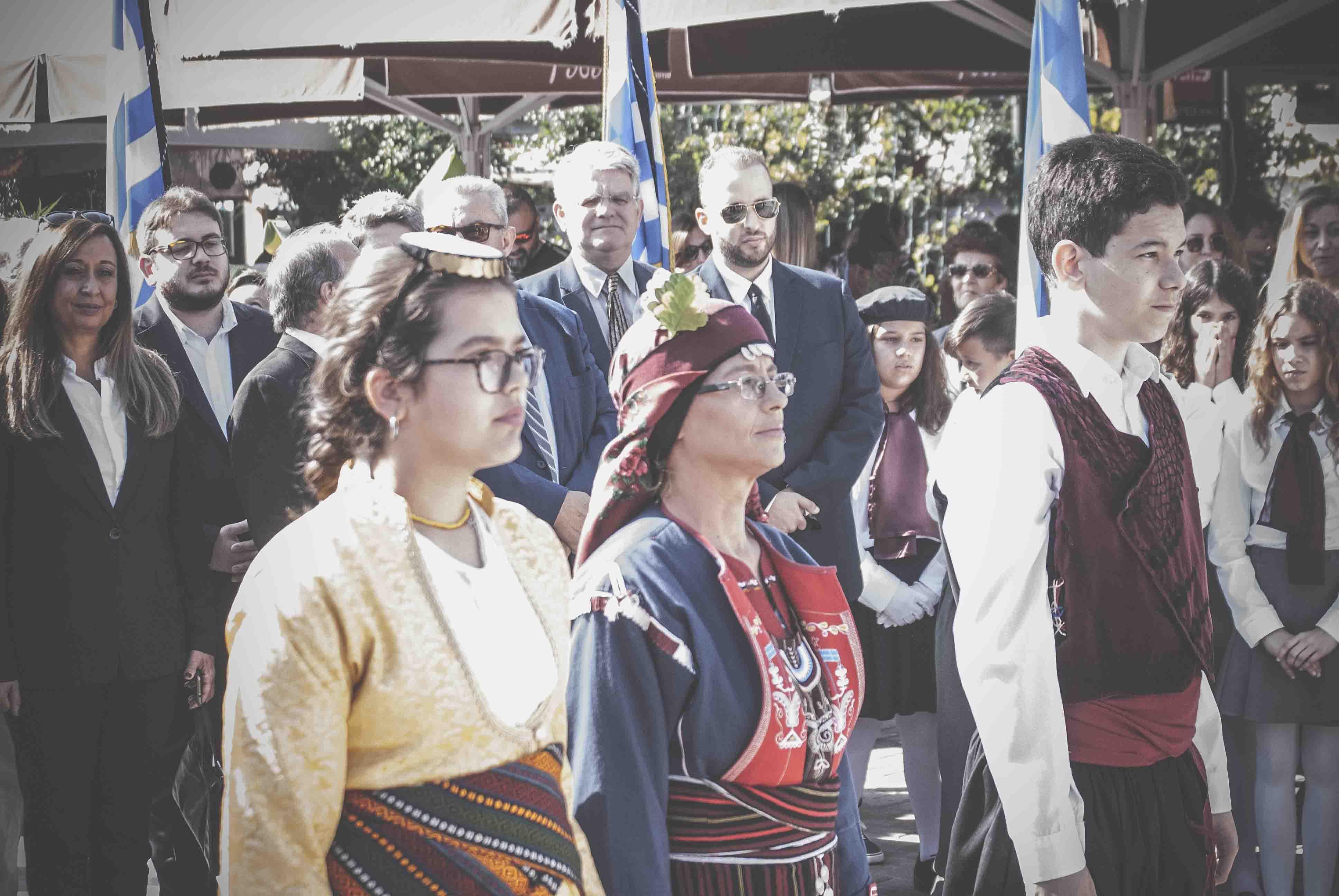 Η παρέλαση της 28ης Οκτωβρίου σε Καστέλλα και Ψαχνά (φωτό) DSC 0289