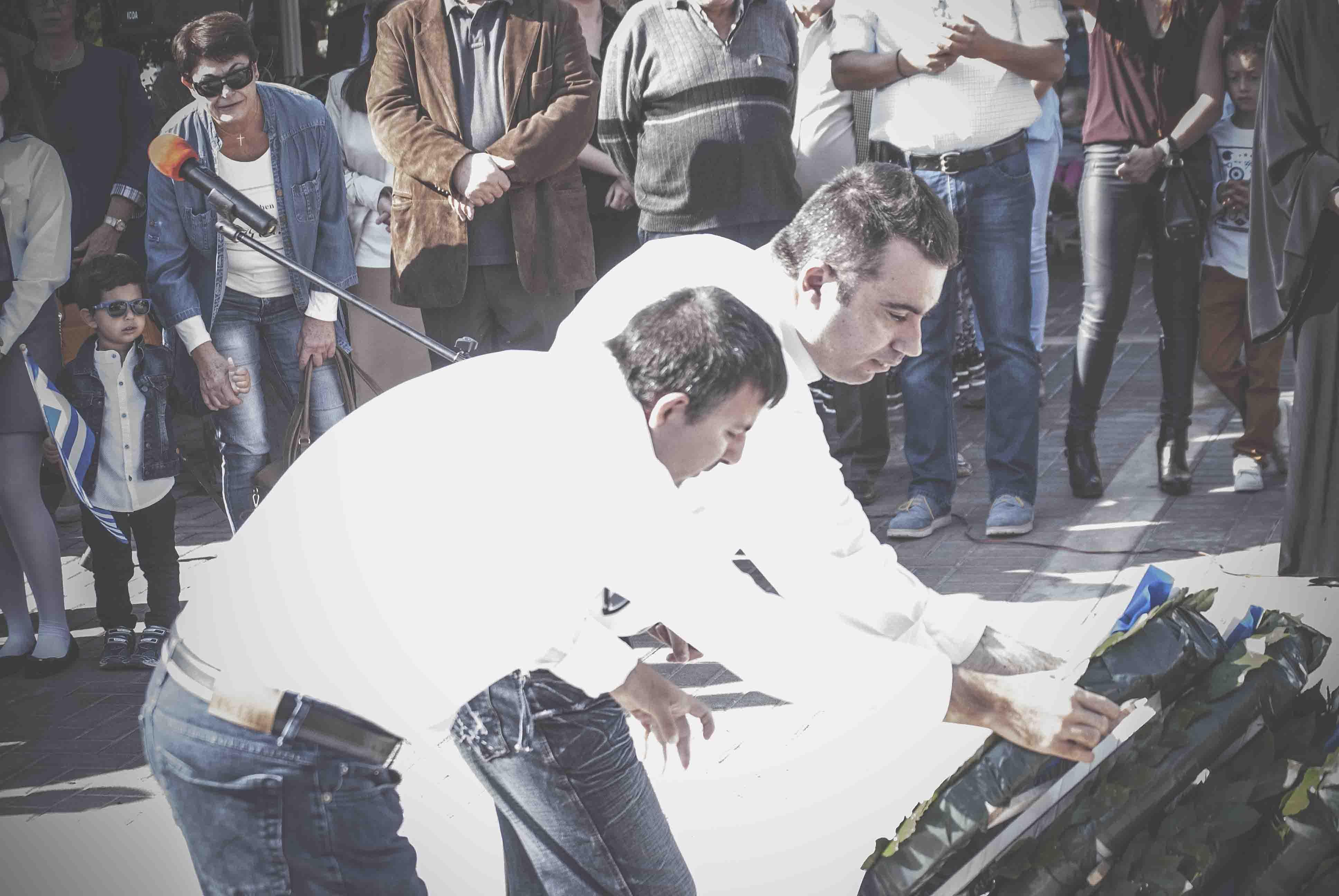 Η παρέλαση της 28ης Οκτωβρίου σε Καστέλλα και Ψαχνά (φωτό) DSC 0295