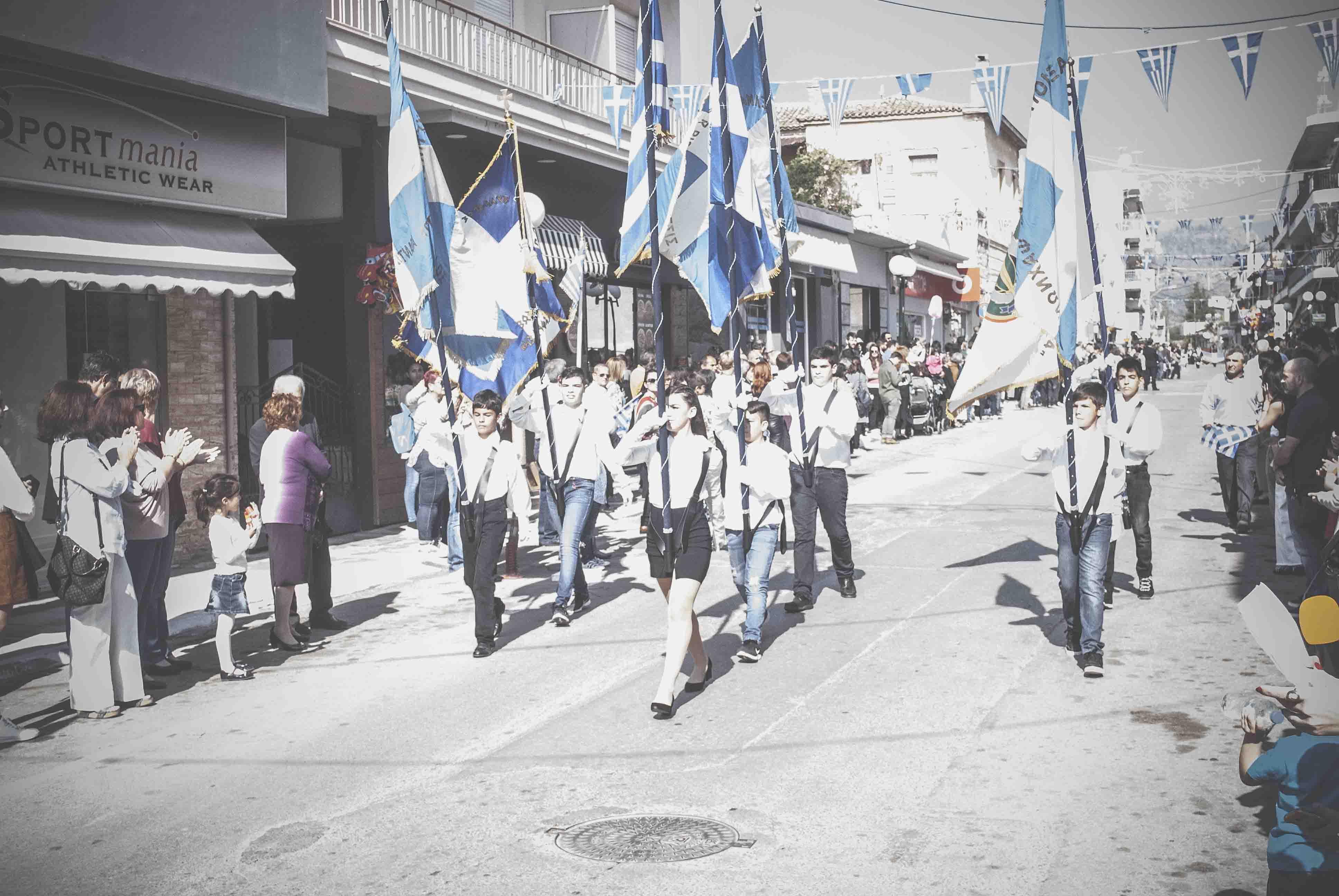 Η παρέλαση της 28ης Οκτωβρίου σε Καστέλλα και Ψαχνά (φωτό) DSC 0316