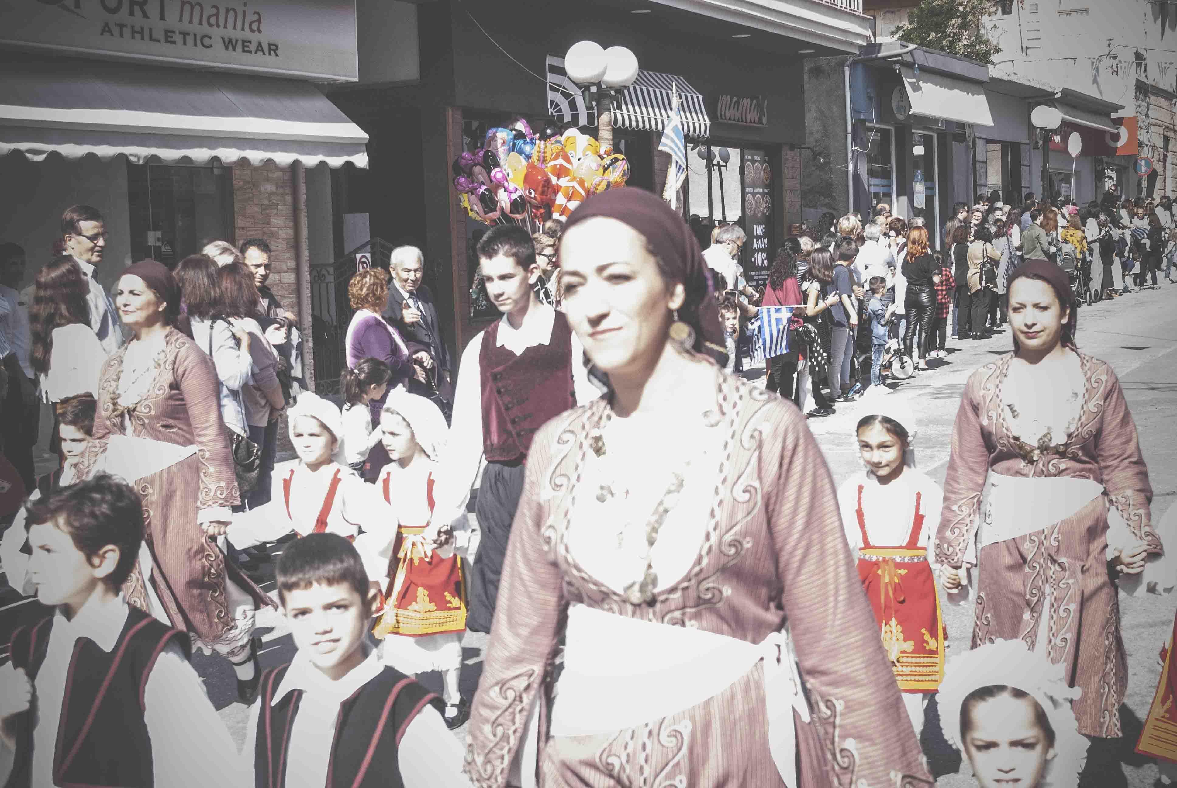 Η παρέλαση της 28ης Οκτωβρίου σε Καστέλλα και Ψαχνά (φωτό) DSC 0335