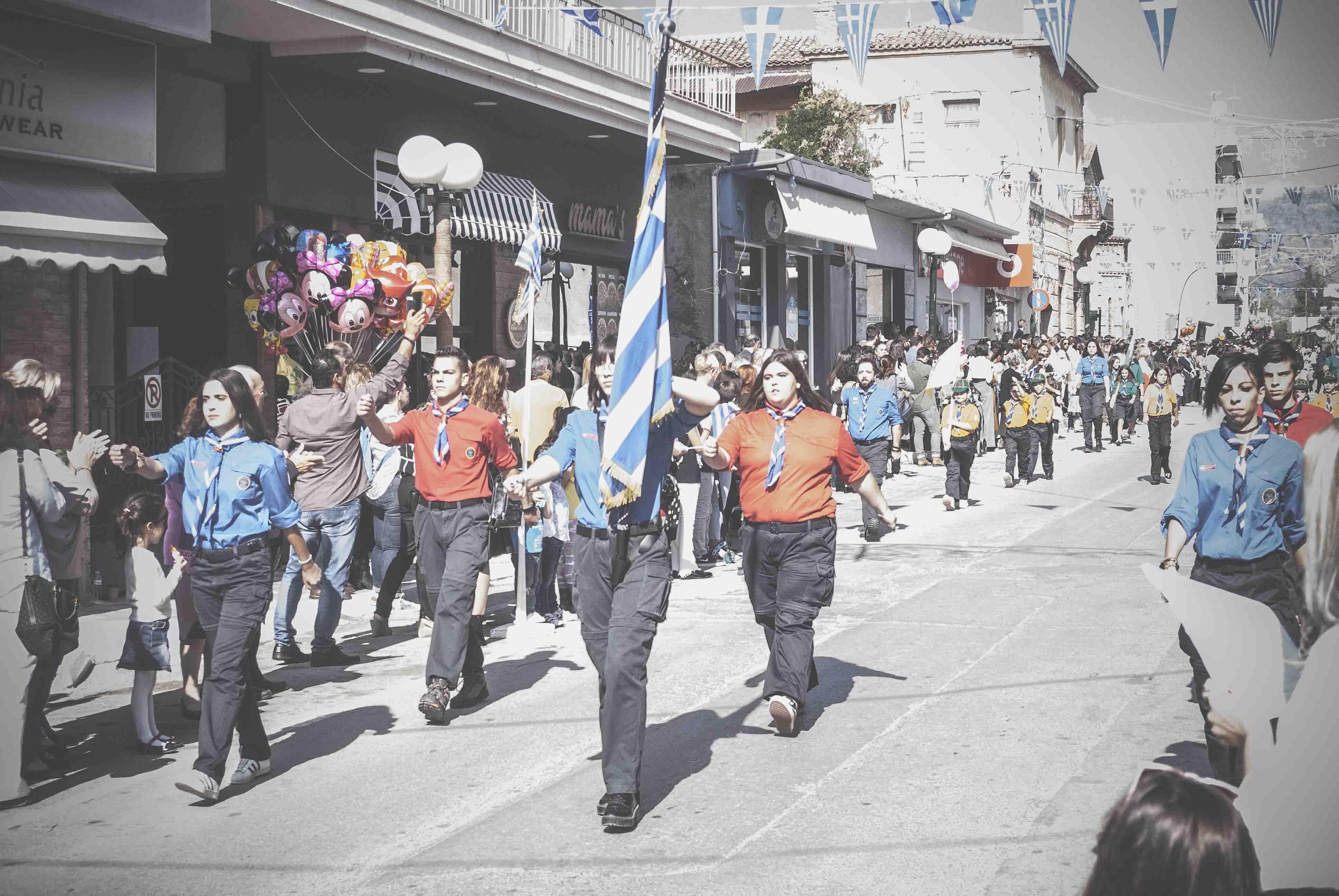 Η παρέλαση της 28ης Οκτωβρίου σε Καστέλλα και Ψαχνά (φωτό) DSC 0339