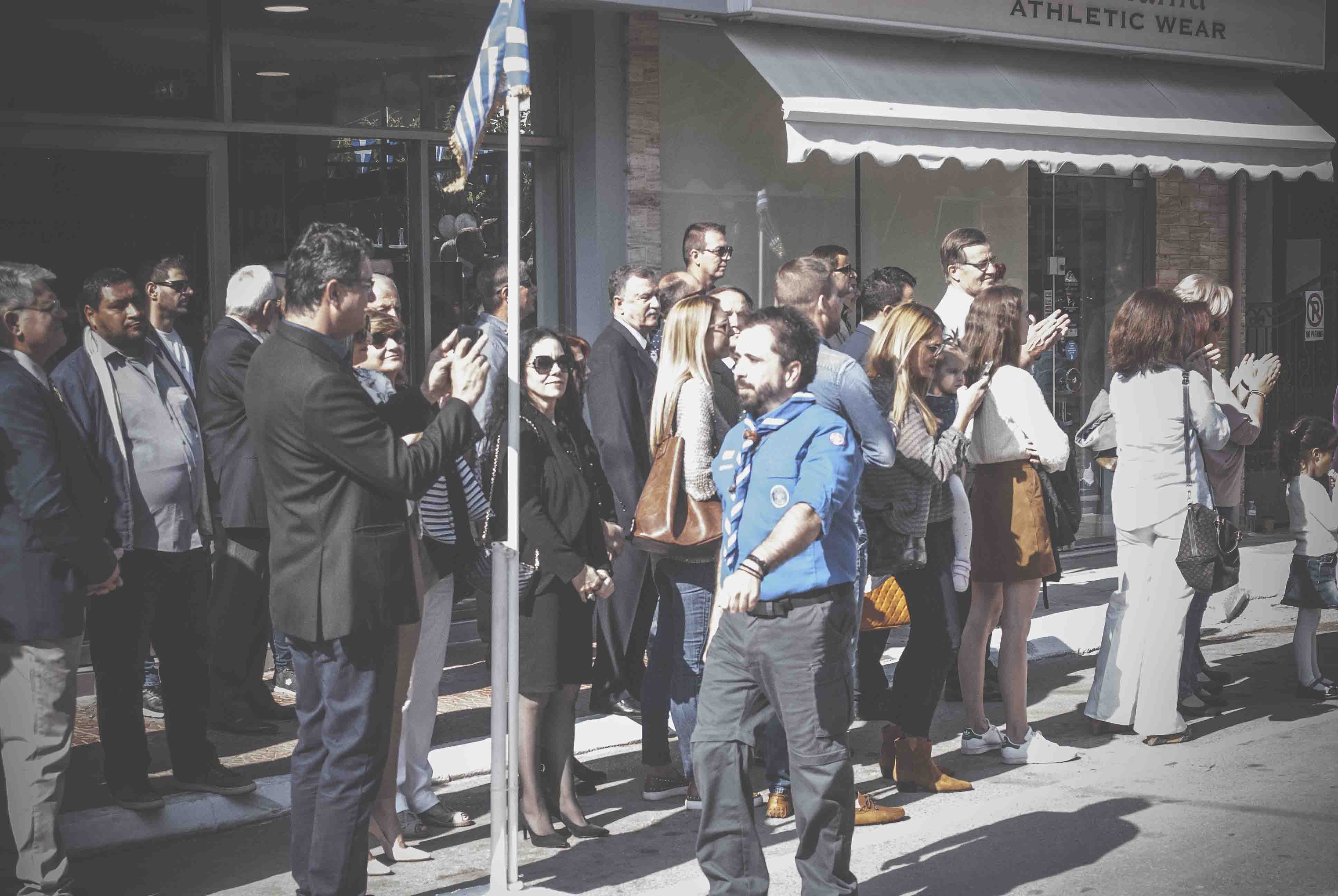 Η παρέλαση της 28ης Οκτωβρίου σε Καστέλλα και Ψαχνά (φωτό) DSC 0341