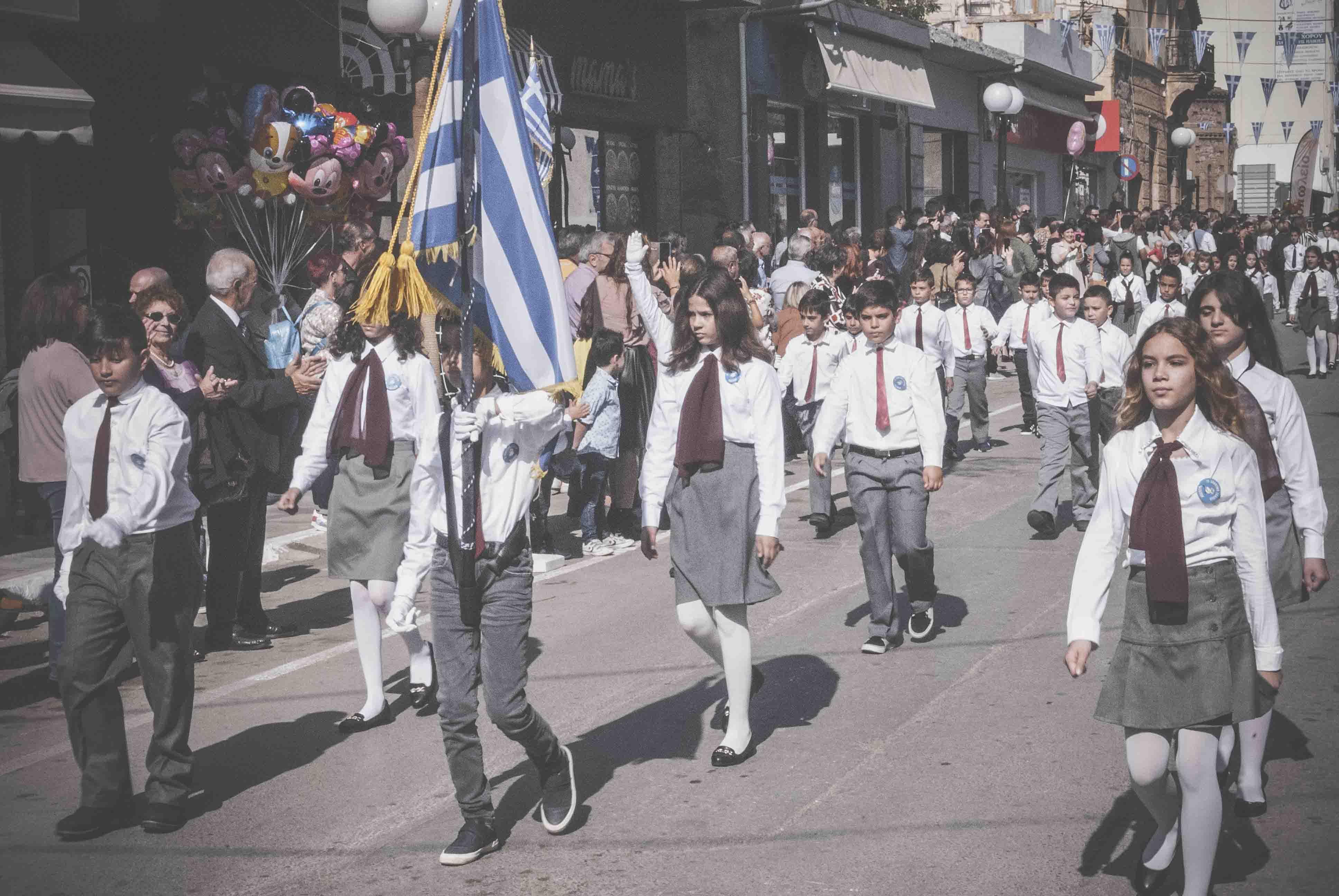 Η παρέλαση της 28ης Οκτωβρίου σε Καστέλλα και Ψαχνά (φωτό) DSC 0351