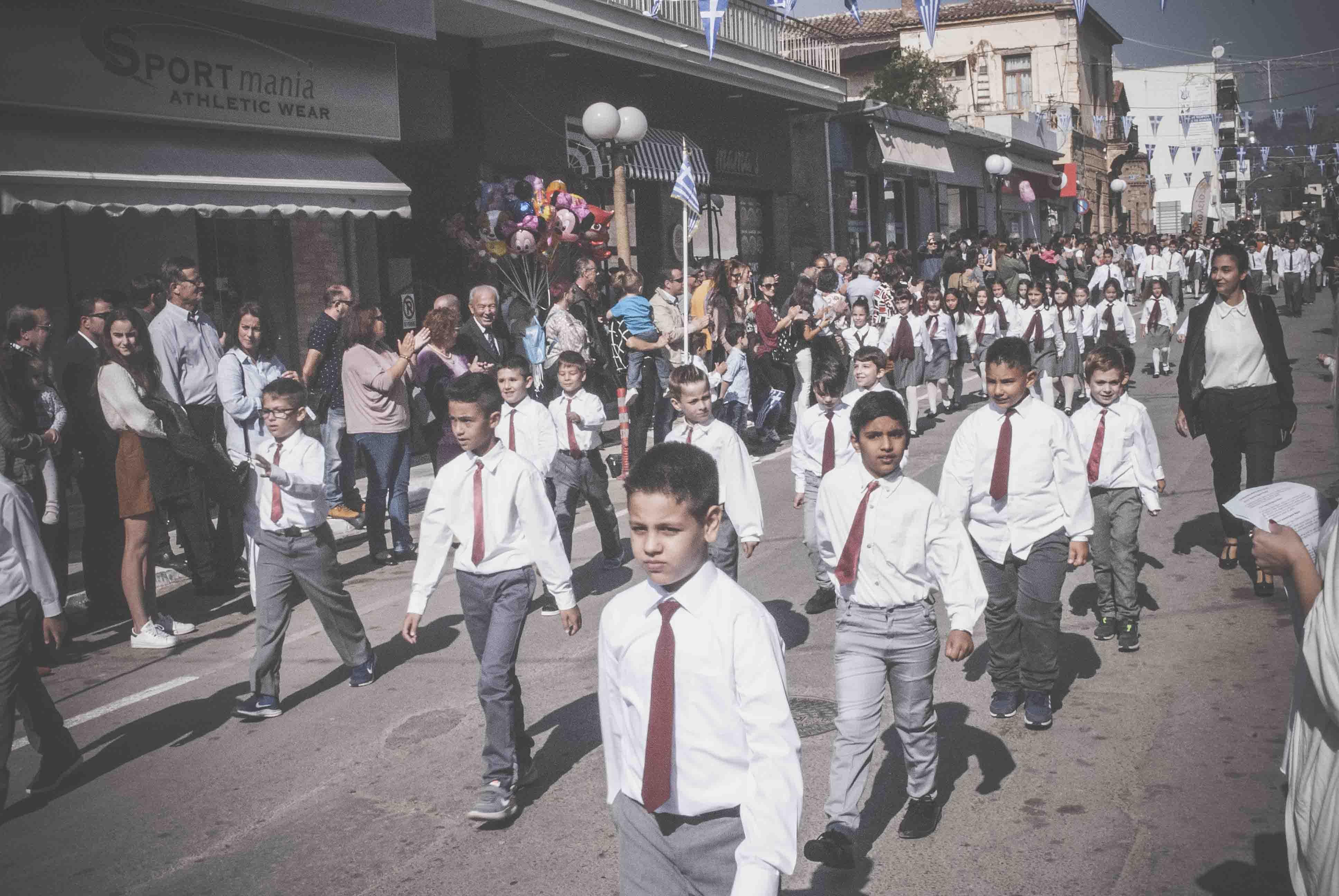 Η παρέλαση της 28ης Οκτωβρίου σε Καστέλλα και Ψαχνά (φωτό) DSC 0353