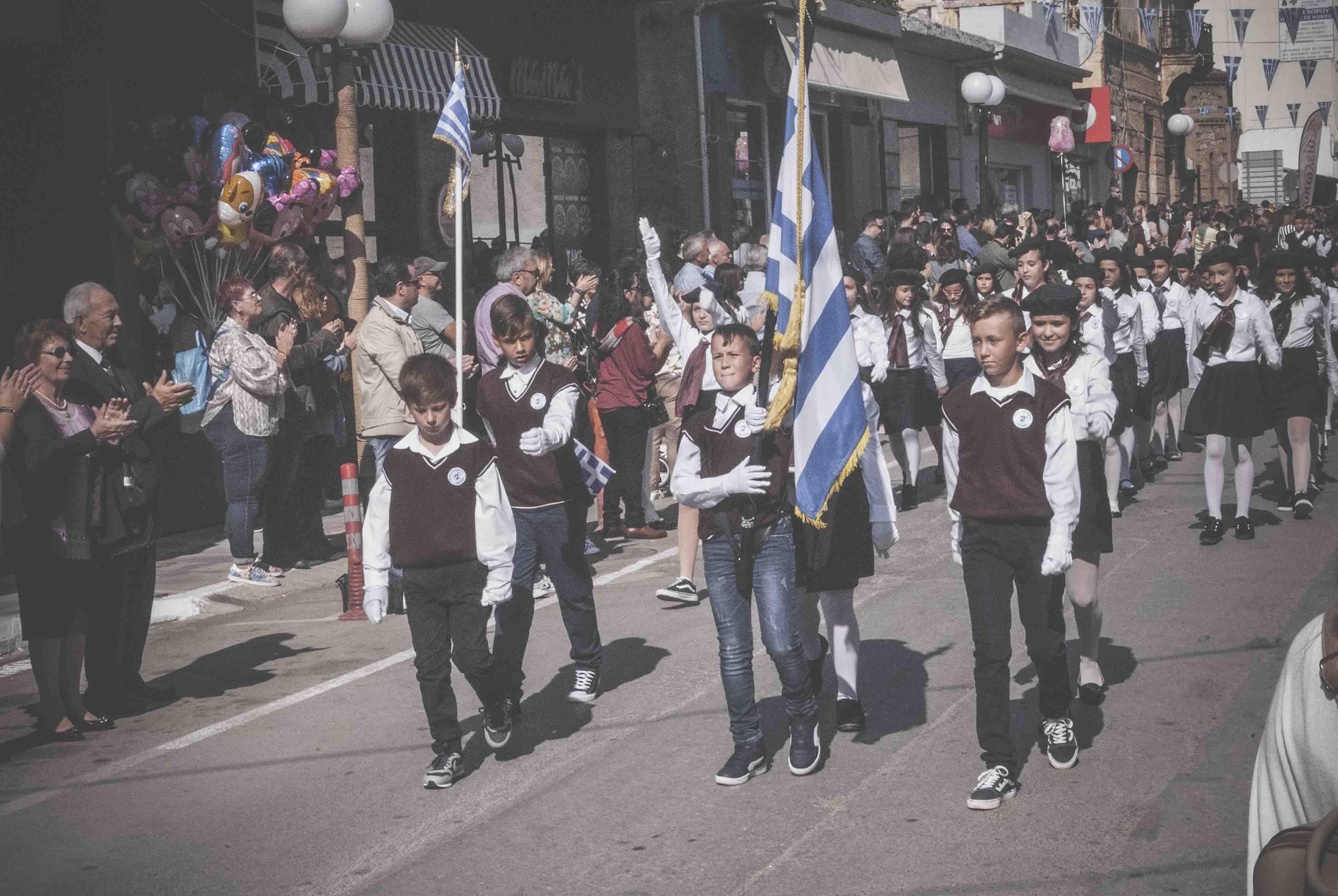 Η παρέλαση της 28ης Οκτωβρίου σε Καστέλλα και Ψαχνά (φωτό) DSC 0365