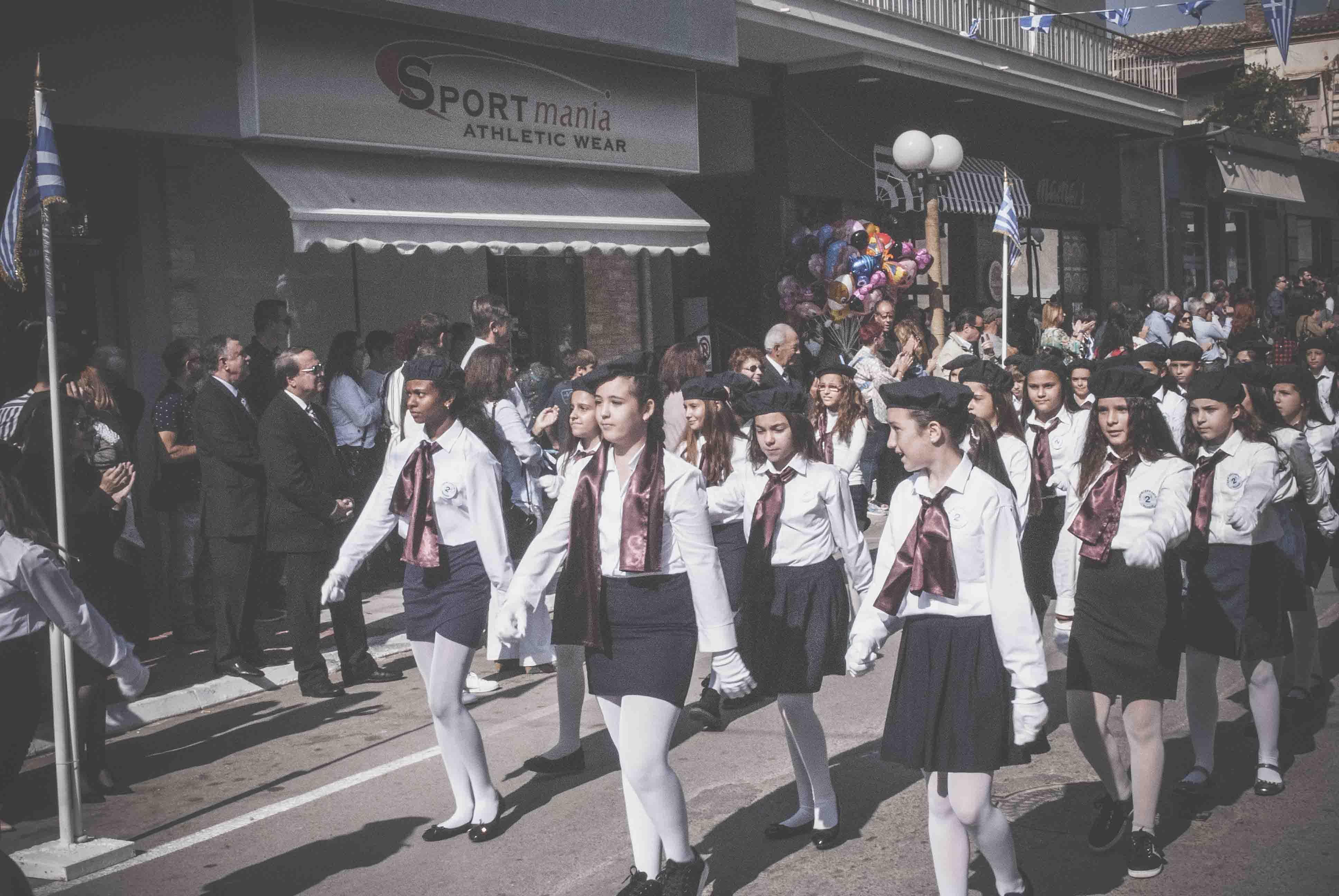 Η παρέλαση της 28ης Οκτωβρίου σε Καστέλλα και Ψαχνά (φωτό) DSC 0367