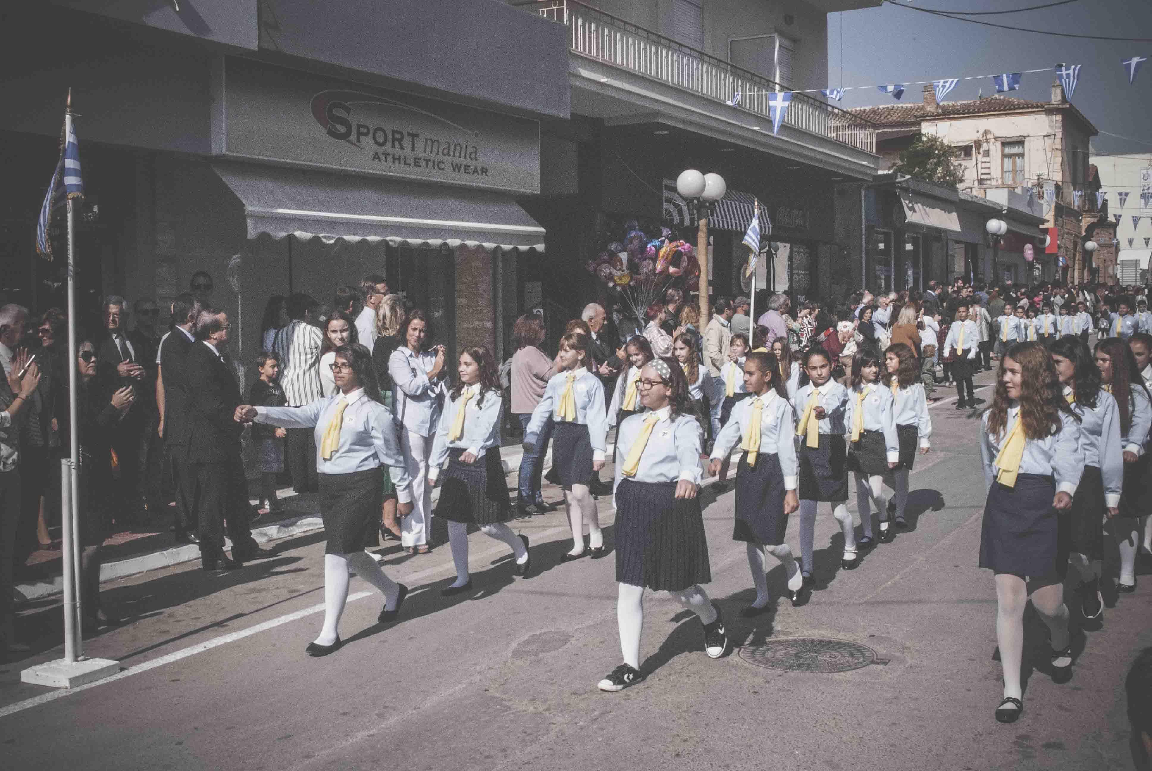 Φωτογραφικό υλικό από την παρέλαση στα Ψαχνά DSC 0381  Η παρέλαση της 28ης Οκτωβρίου σε Καστέλλα και Ψαχνά (φωτό) DSC 0381