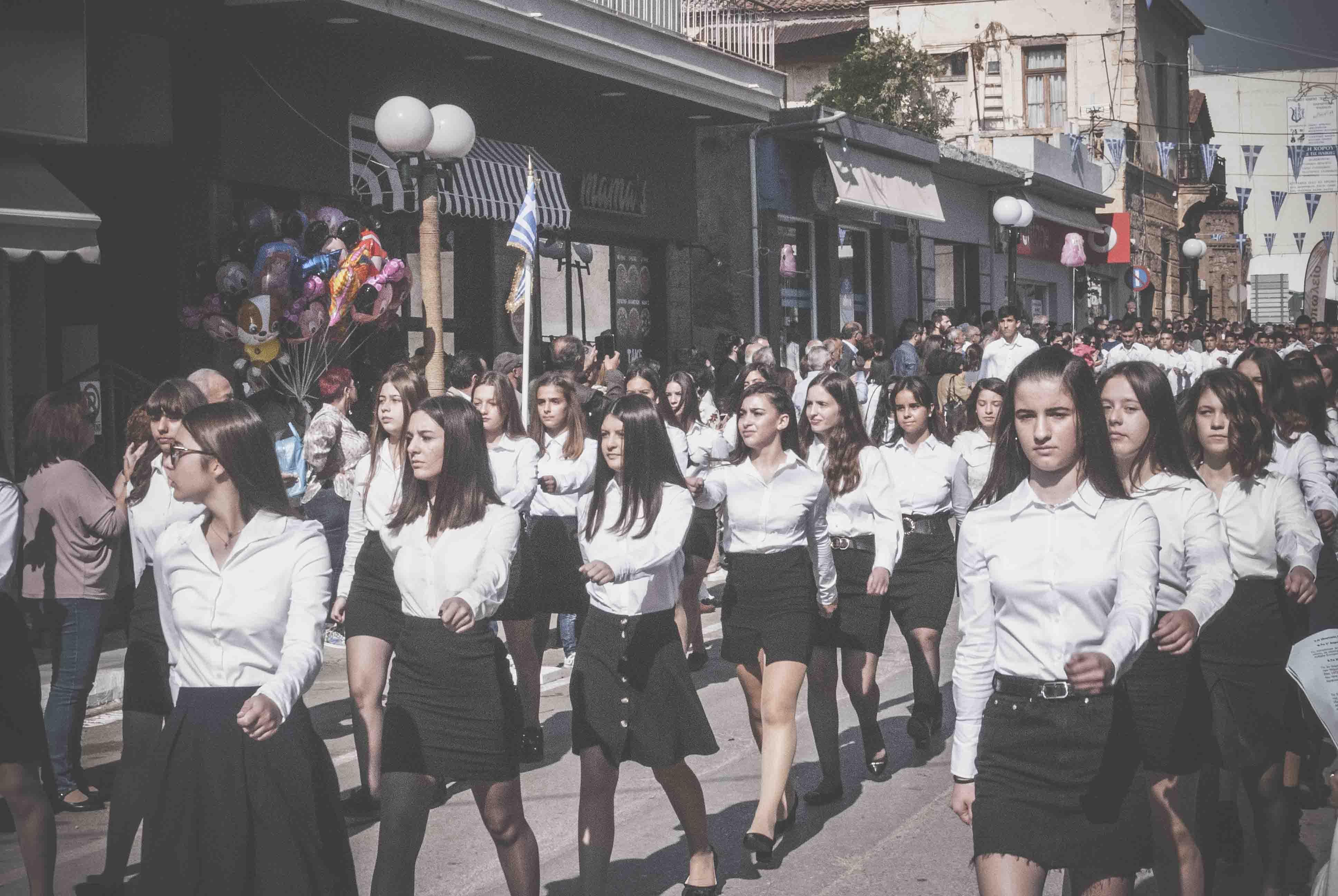 Φωτογραφικό υλικό από την παρέλαση στα Ψαχνά DSC 0394  Η παρέλαση της 28ης Οκτωβρίου σε Καστέλλα και Ψαχνά (φωτό) DSC 0394