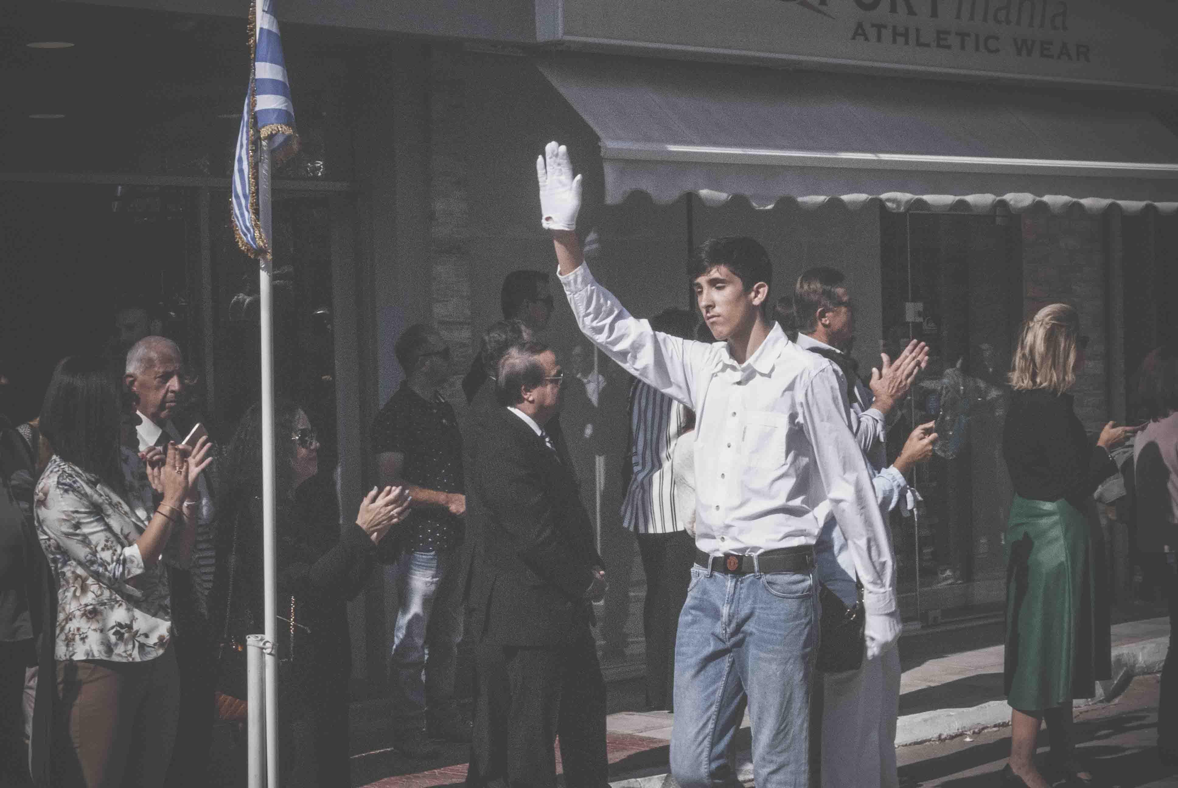 Φωτογραφικό υλικό από την παρέλαση στα Ψαχνά DSC 0400  Η παρέλαση της 28ης Οκτωβρίου σε Καστέλλα και Ψαχνά (φωτό) DSC 0400