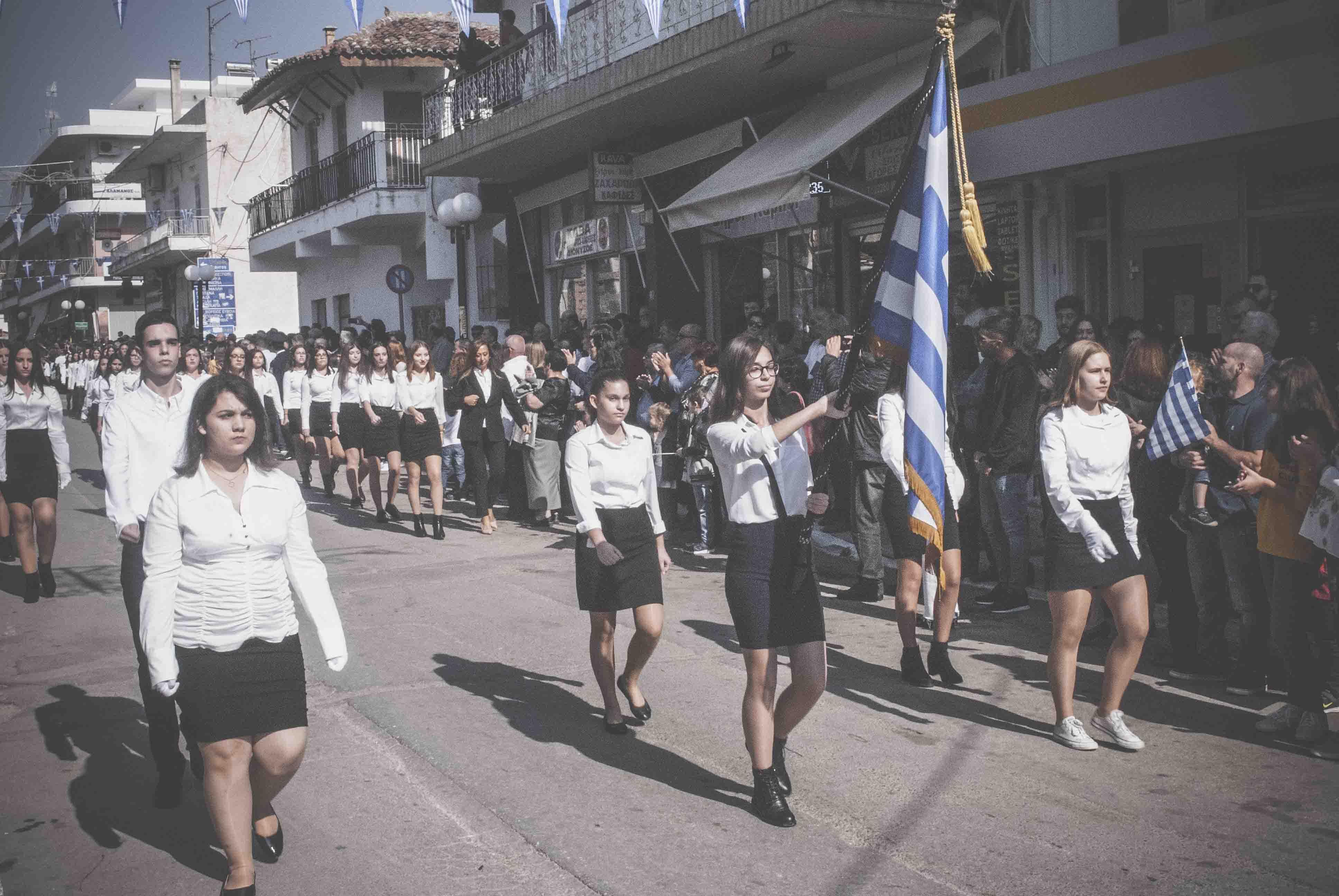 Φωτογραφικό υλικό από την παρέλαση στα Ψαχνά DSC 0406  Η παρέλαση της 28ης Οκτωβρίου σε Καστέλλα και Ψαχνά (φωτό) DSC 0406