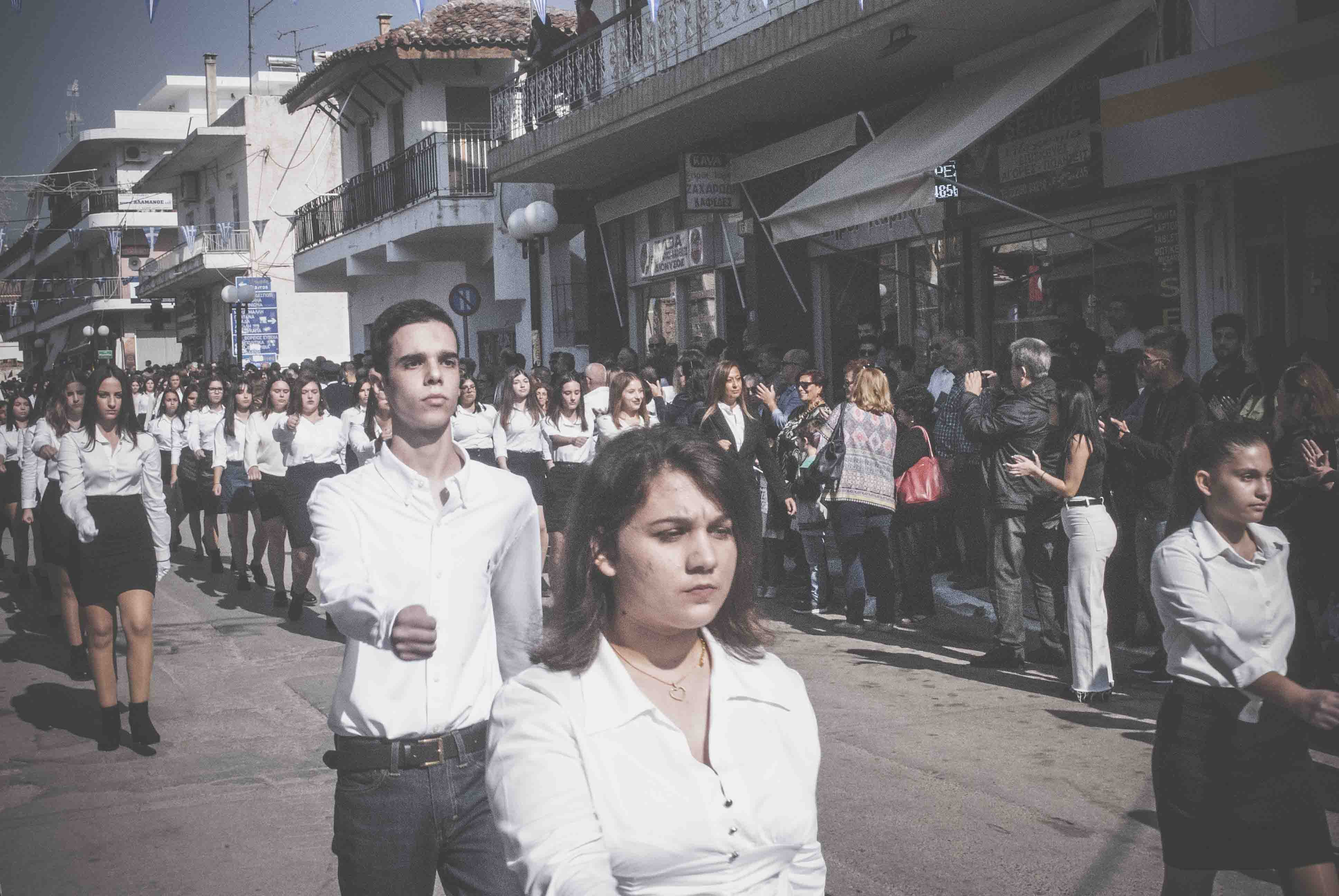 Φωτογραφικό υλικό από την παρέλαση στα Ψαχνά DSC 0407  Η παρέλαση της 28ης Οκτωβρίου σε Καστέλλα και Ψαχνά (φωτό) DSC 0407