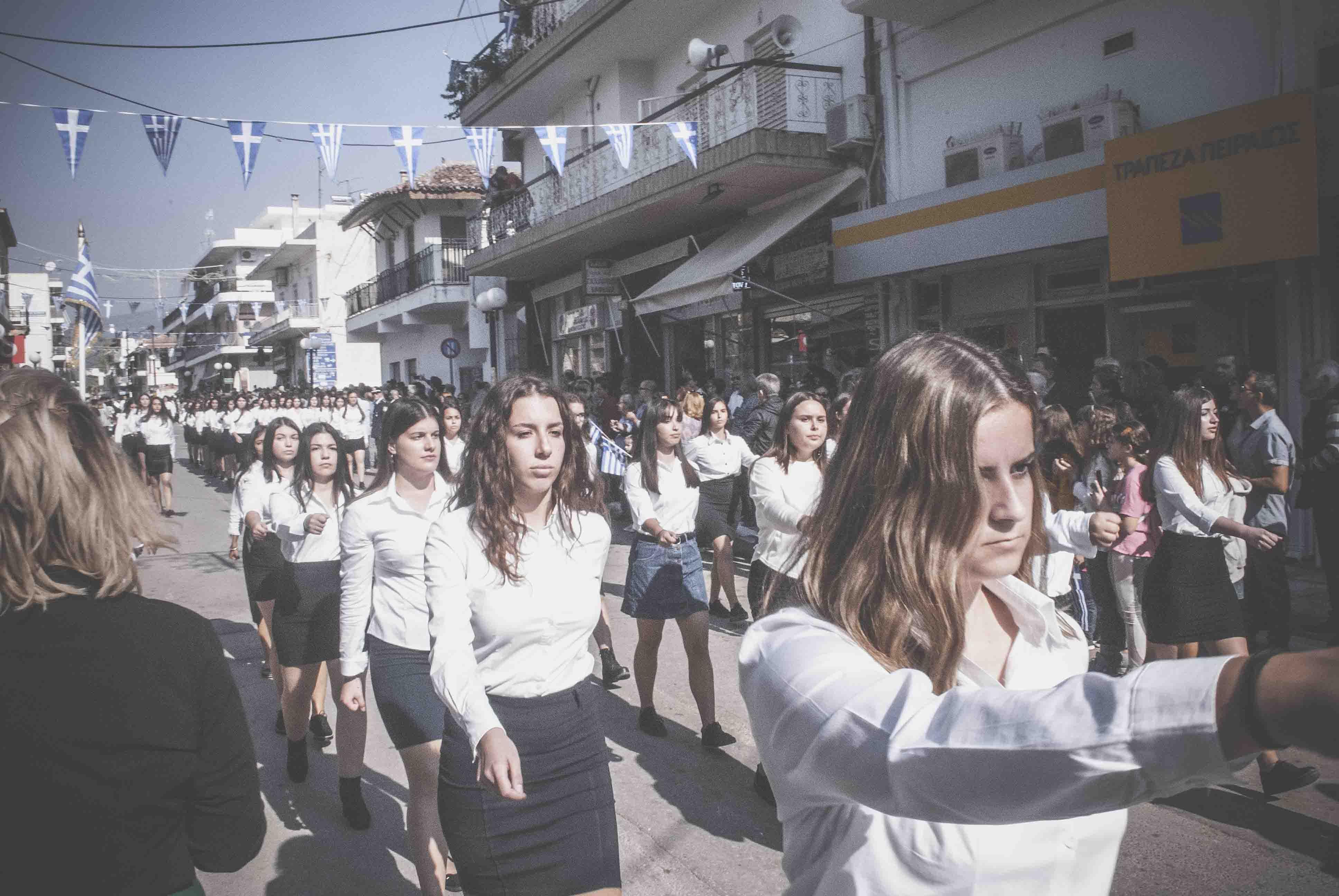 Φωτογραφικό υλικό από την παρέλαση στα Ψαχνά DSC 0409  Η παρέλαση της 28ης Οκτωβρίου σε Καστέλλα και Ψαχνά (φωτό) DSC 0409
