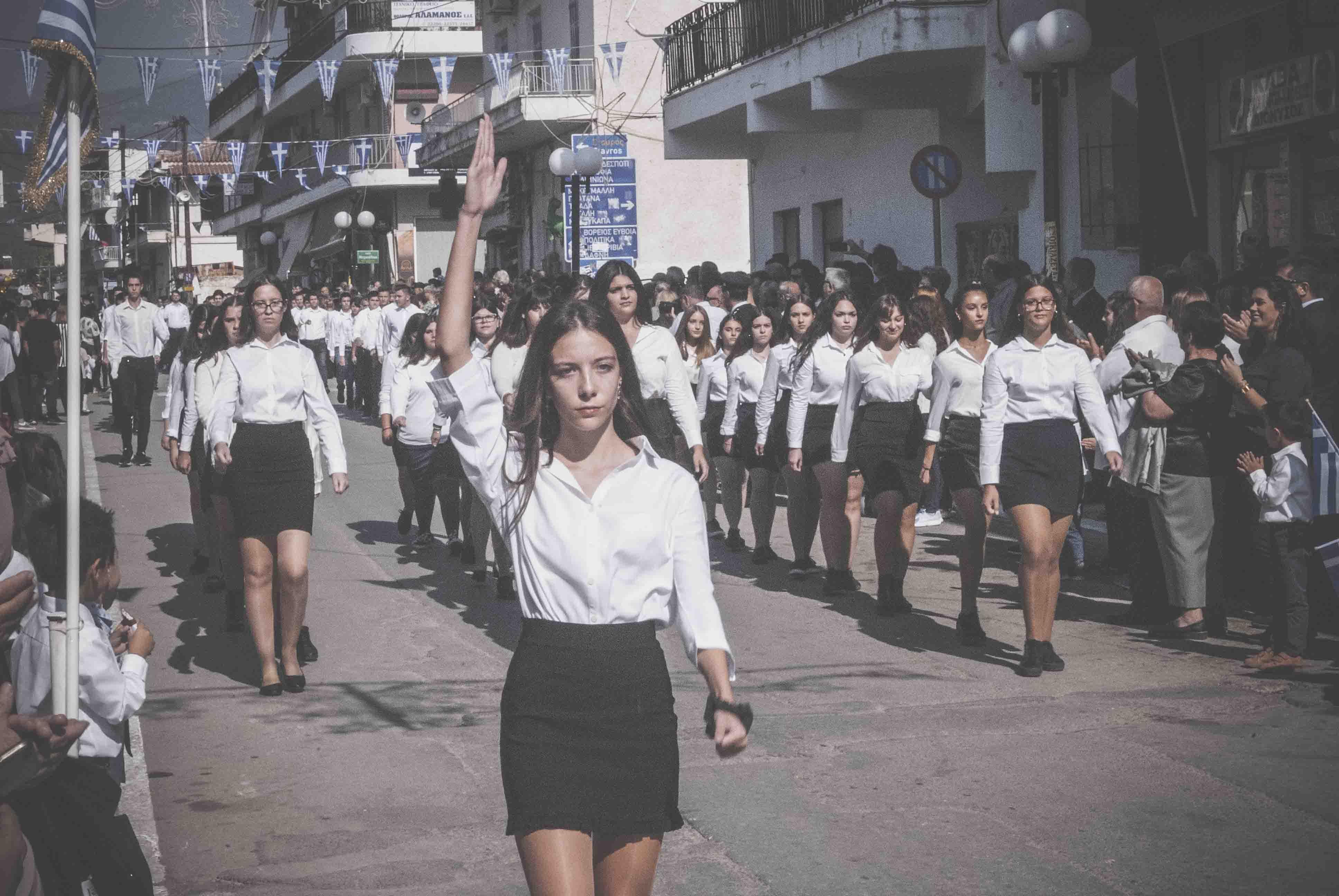 Φωτογραφικό υλικό από την παρέλαση στα Ψαχνά DSC 0419  Η παρέλαση της 28ης Οκτωβρίου σε Καστέλλα και Ψαχνά (φωτό) DSC 0419