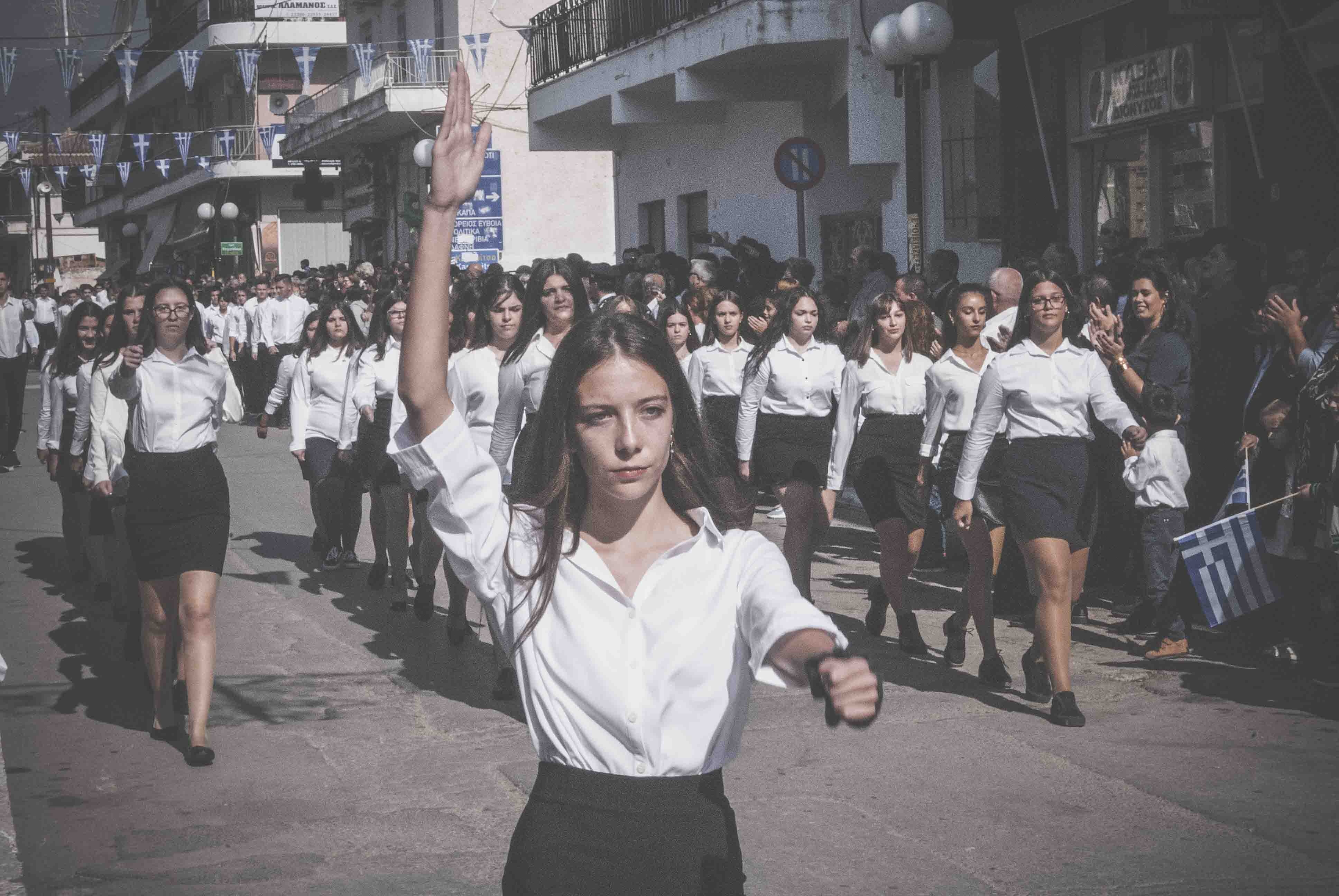 Φωτογραφικό υλικό από την παρέλαση στα Ψαχνά DSC 0420  Η παρέλαση της 28ης Οκτωβρίου σε Καστέλλα και Ψαχνά (φωτό) DSC 0420