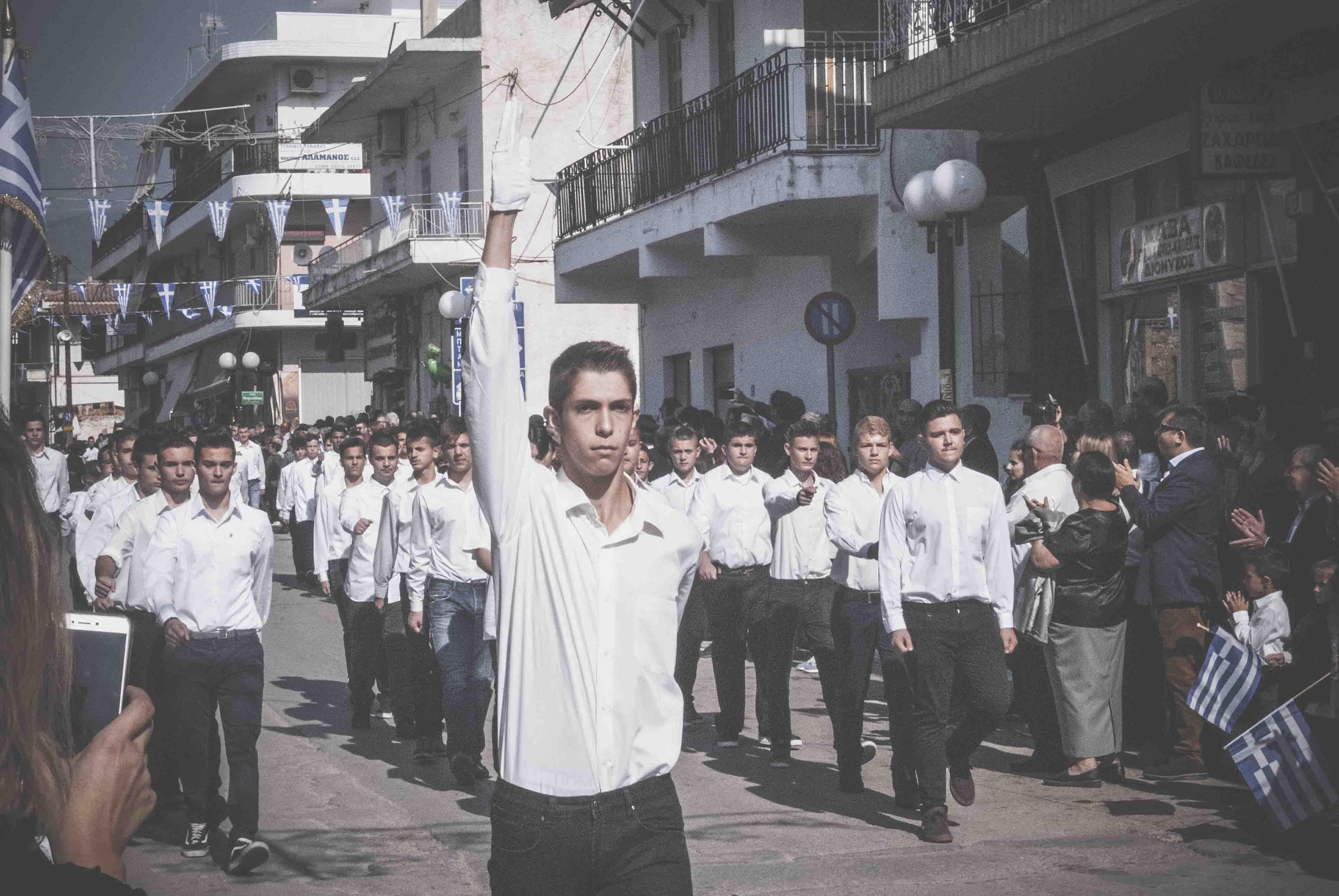 Φωτογραφικό υλικό από την παρέλαση στα Ψαχνά DSC 0425  Η παρέλαση της 28ης Οκτωβρίου σε Καστέλλα και Ψαχνά (φωτό) DSC 0425