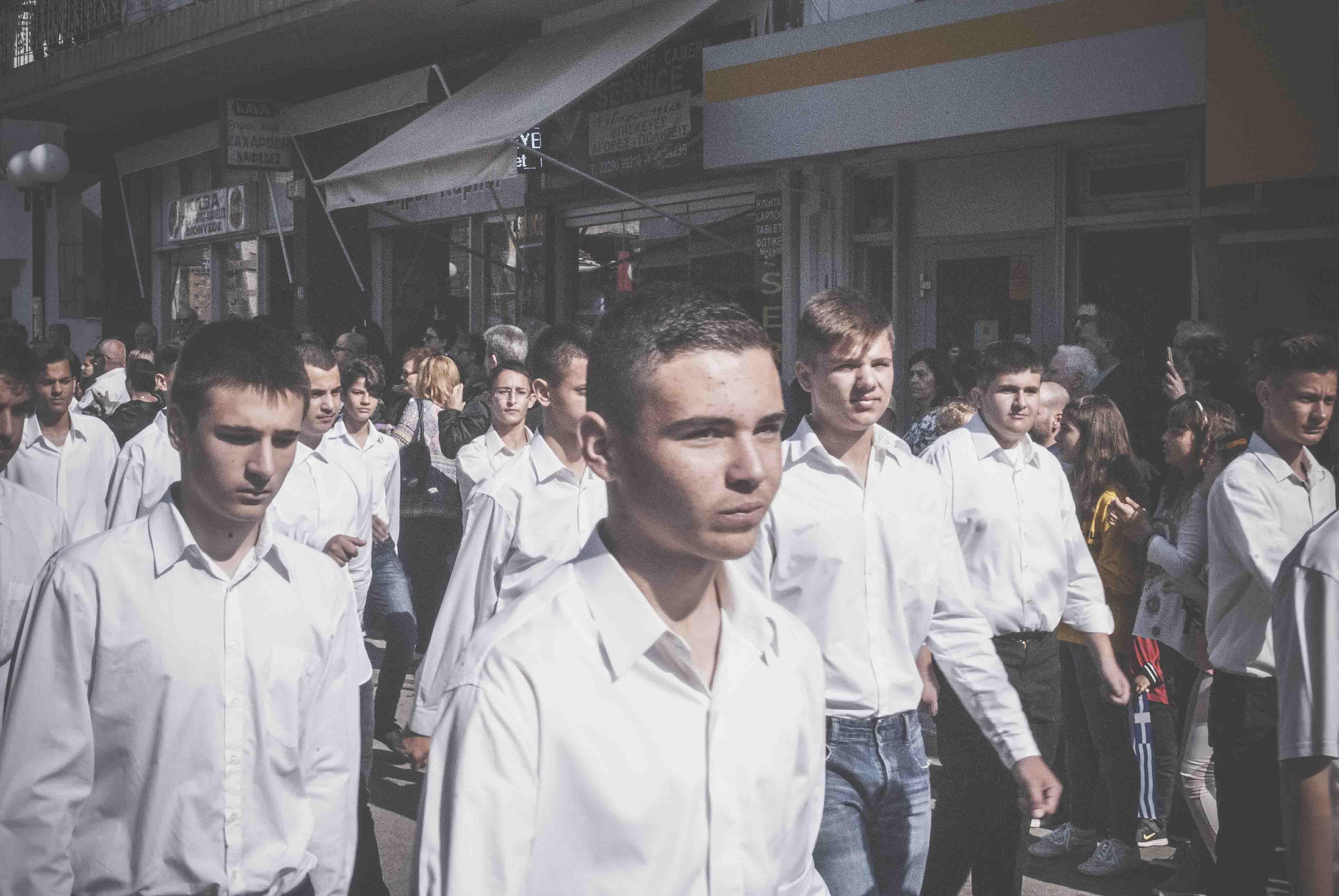 Φωτογραφικό υλικό από την παρέλαση στα Ψαχνά DSC 0427  Η παρέλαση της 28ης Οκτωβρίου σε Καστέλλα και Ψαχνά (φωτό) DSC 0427