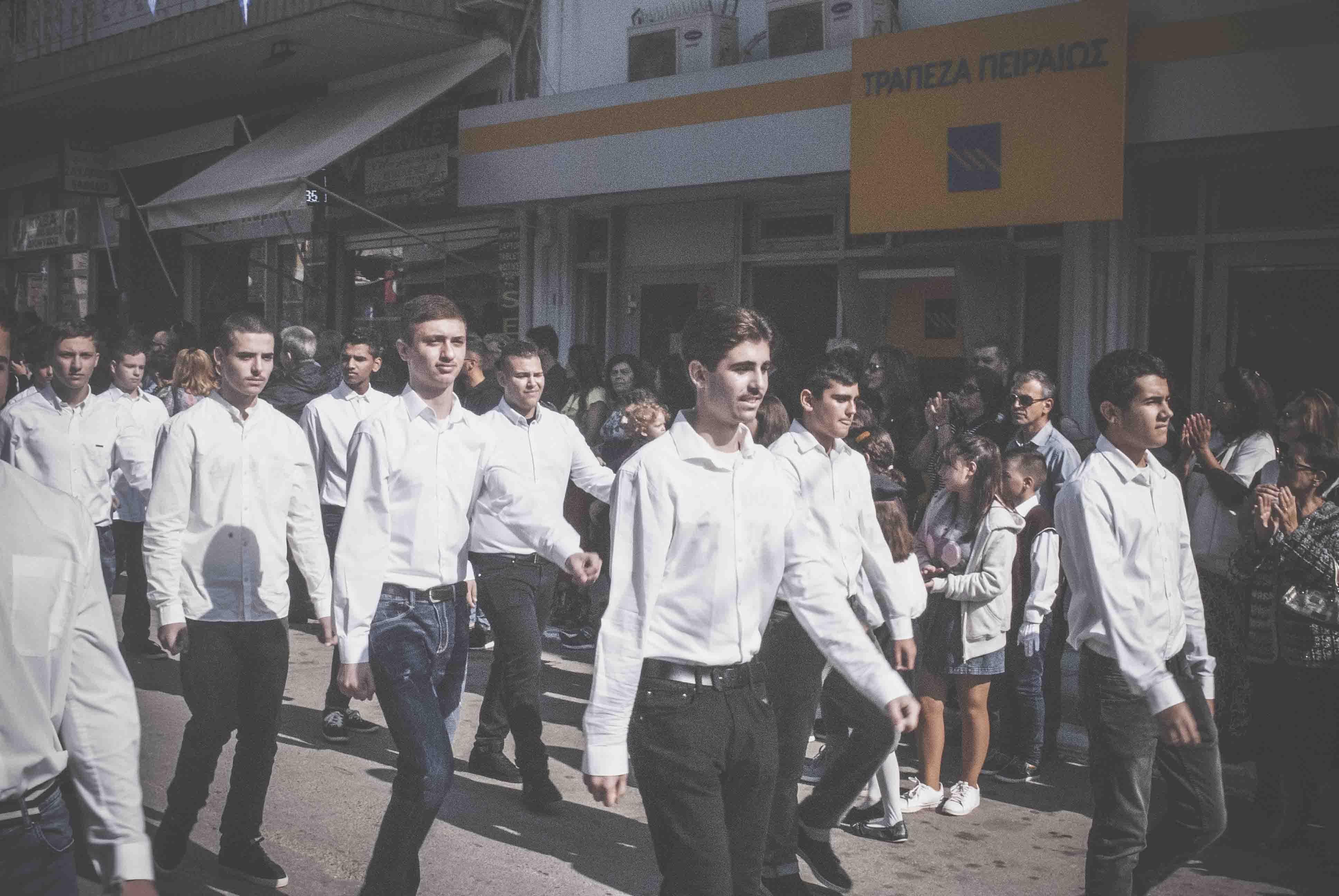 Φωτογραφικό υλικό από την παρέλαση στα Ψαχνά DSC 0431  Η παρέλαση της 28ης Οκτωβρίου σε Καστέλλα και Ψαχνά (φωτό) DSC 0431